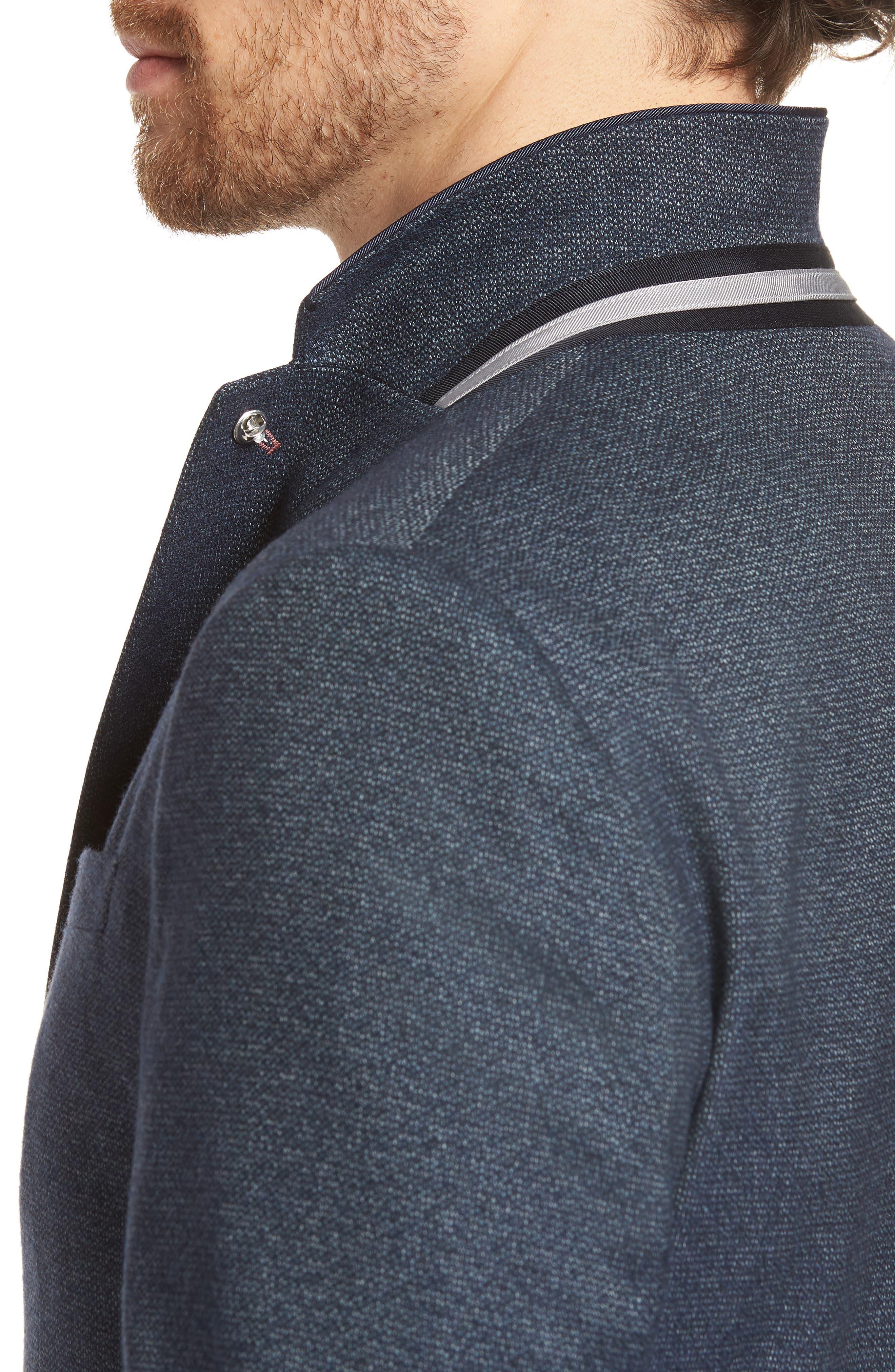 Alternate Image 5  - Ted Baker London Burke Semi Plain Trim Fit Jacket