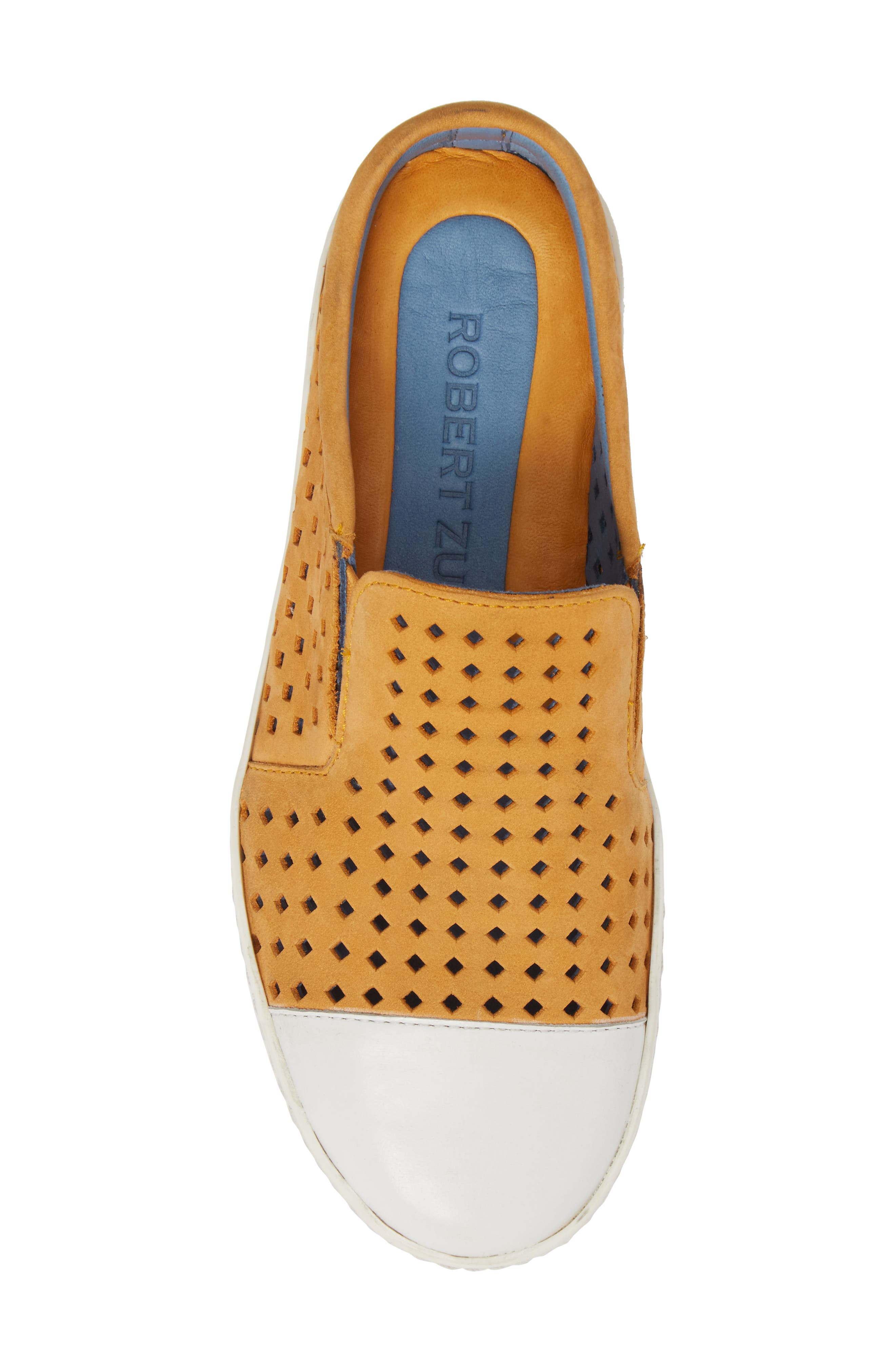 Tippy Slip-On Sneaker,                             Alternate thumbnail 5, color,                             Saffon Suede