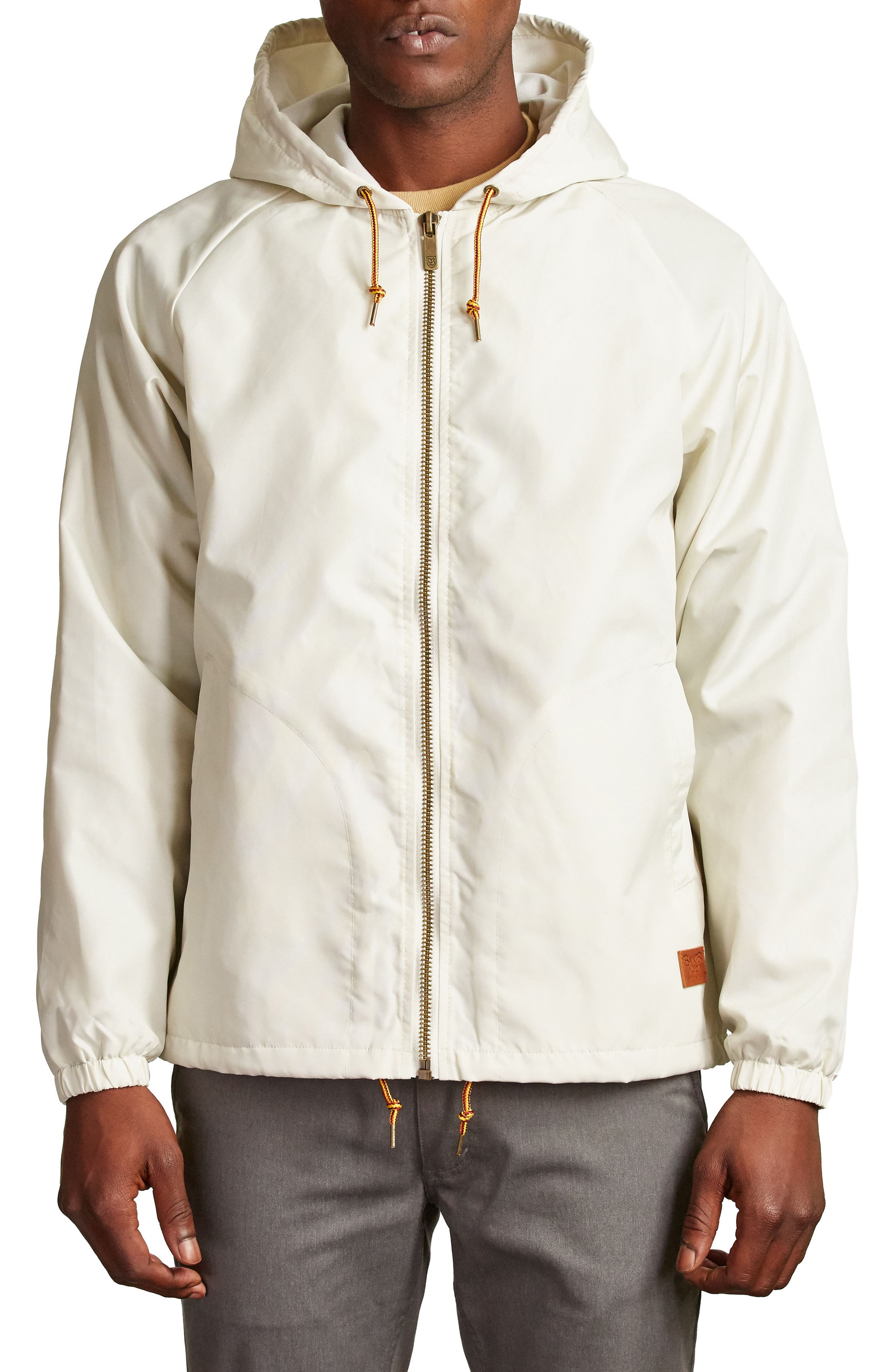 Alternate Image 1 Selected - Brixton Claxton Water Repellent Hooded Windbreaker