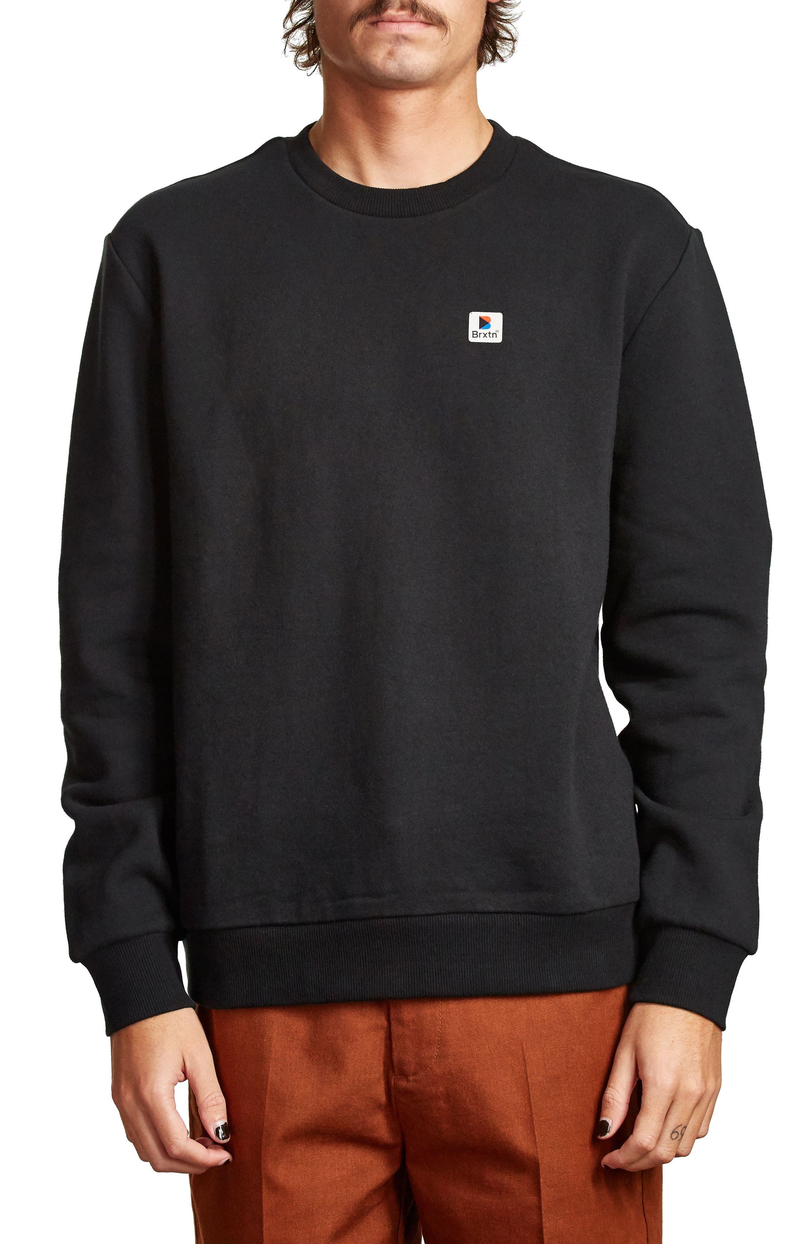 Stonewell Sweatshirt,                         Main,                         color, Black
