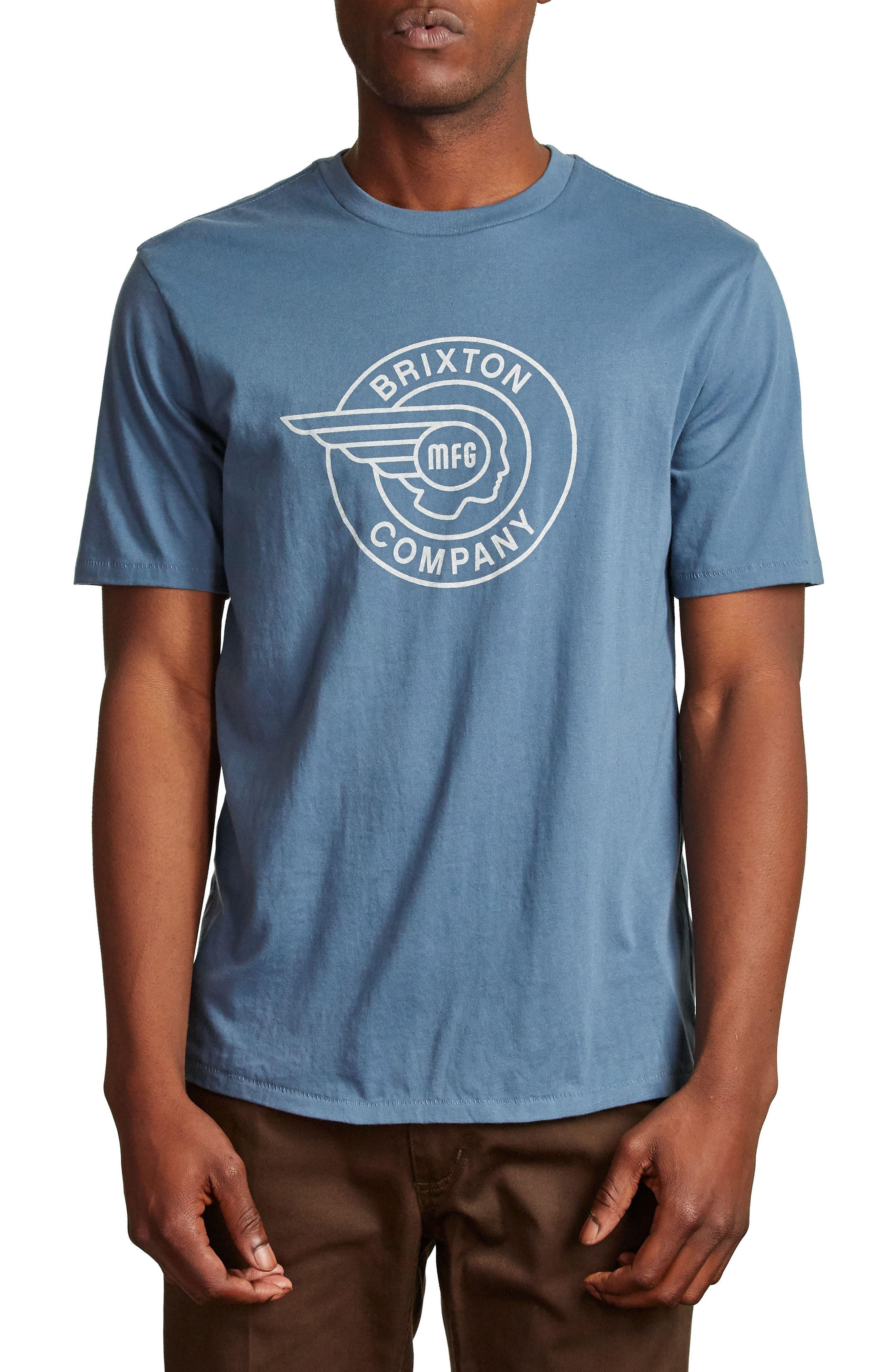 Mercury T-Shirt,                         Main,                         color, Dusty Blue