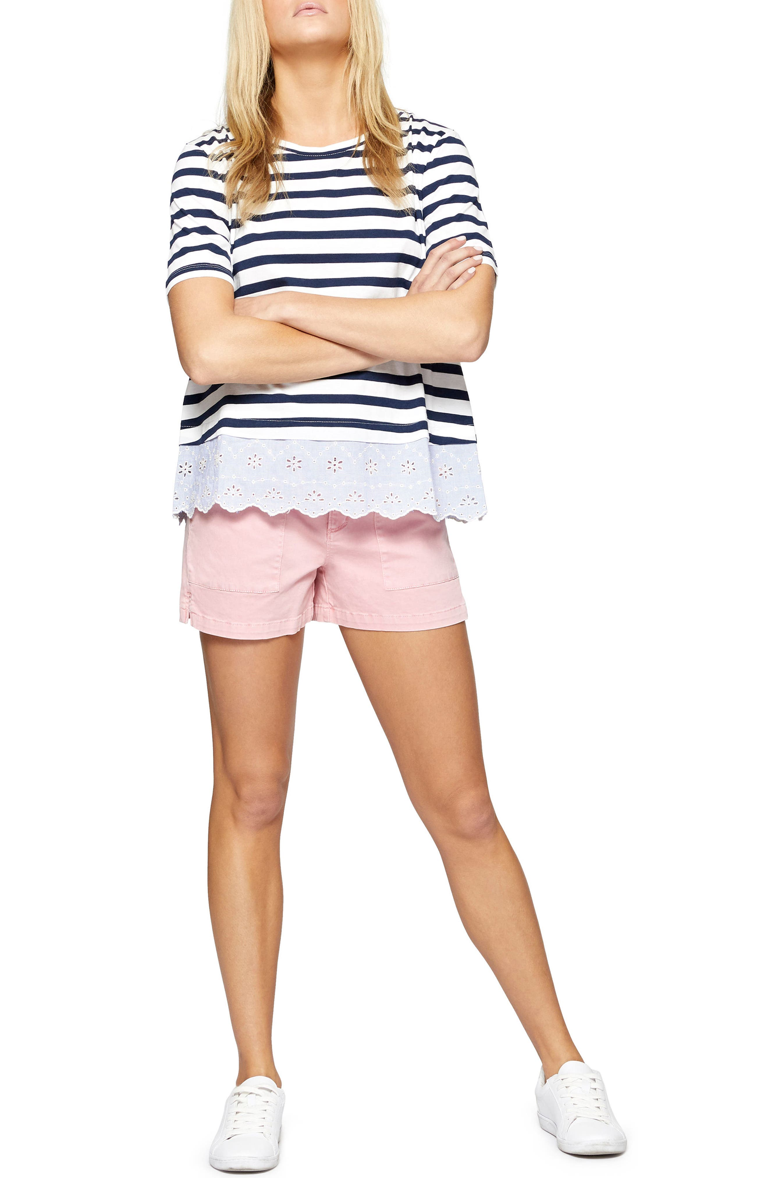 Field Shorts,                             Alternate thumbnail 3, color,                             Flamingo