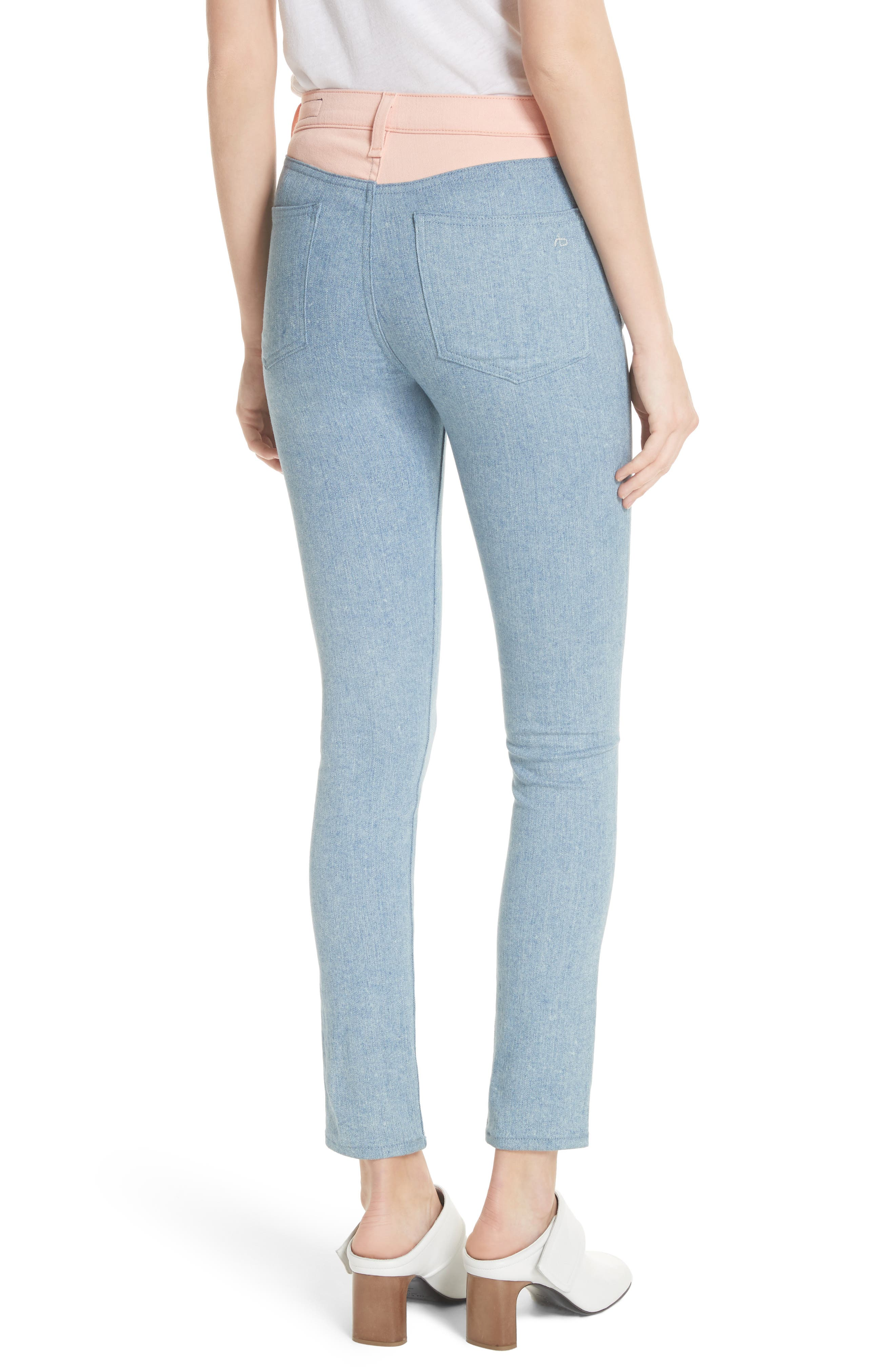 Phila Skinny Jeans,                             Alternate thumbnail 2, color,                             Nelly/ Prairie