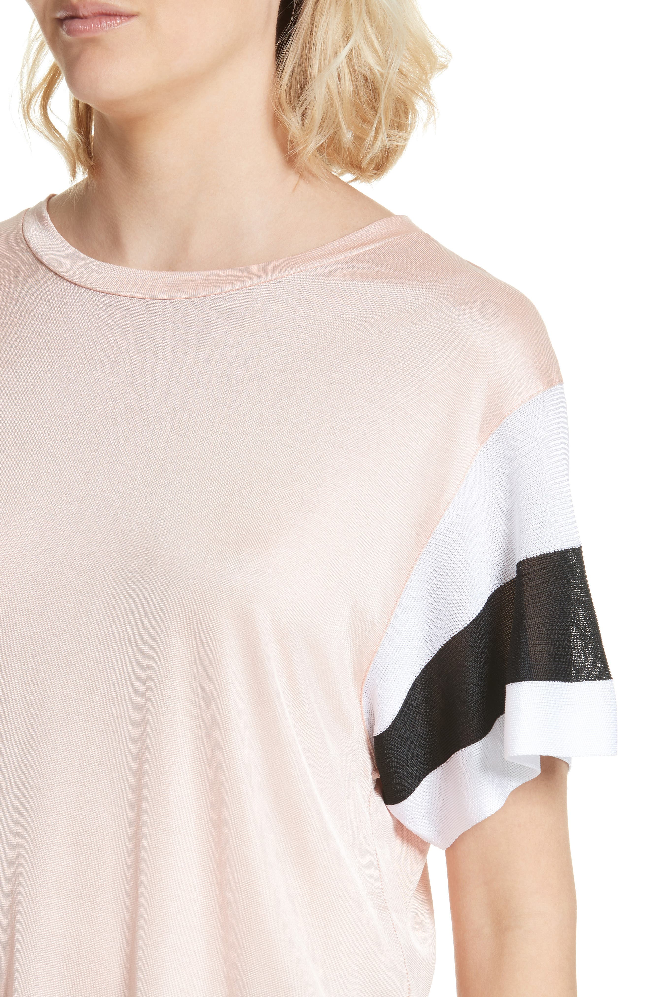 Penny Tee,                             Alternate thumbnail 4, color,                             Pink Rose