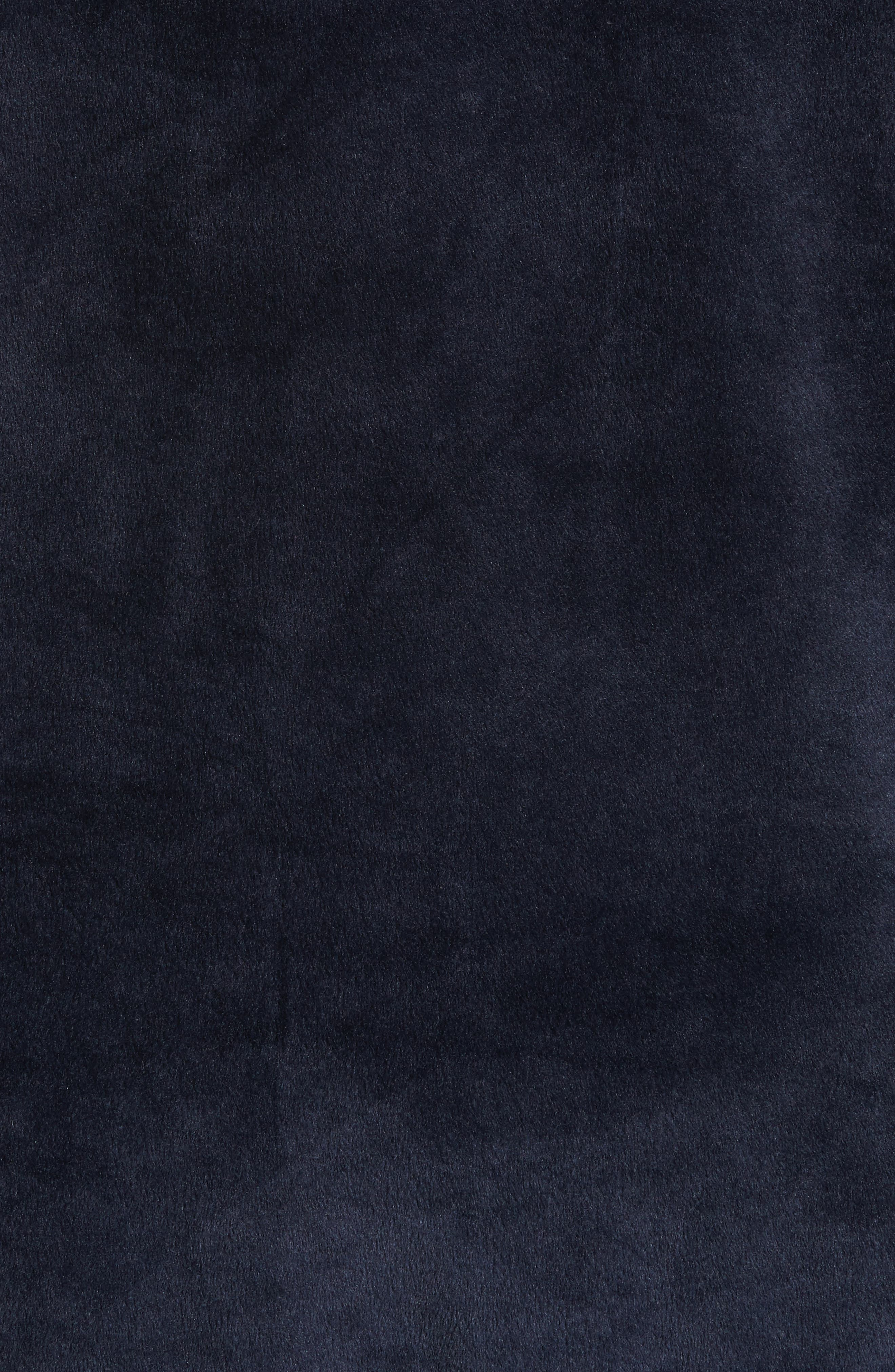 Headland Velour Track Jacket,                             Alternate thumbnail 5, color,                             Slate