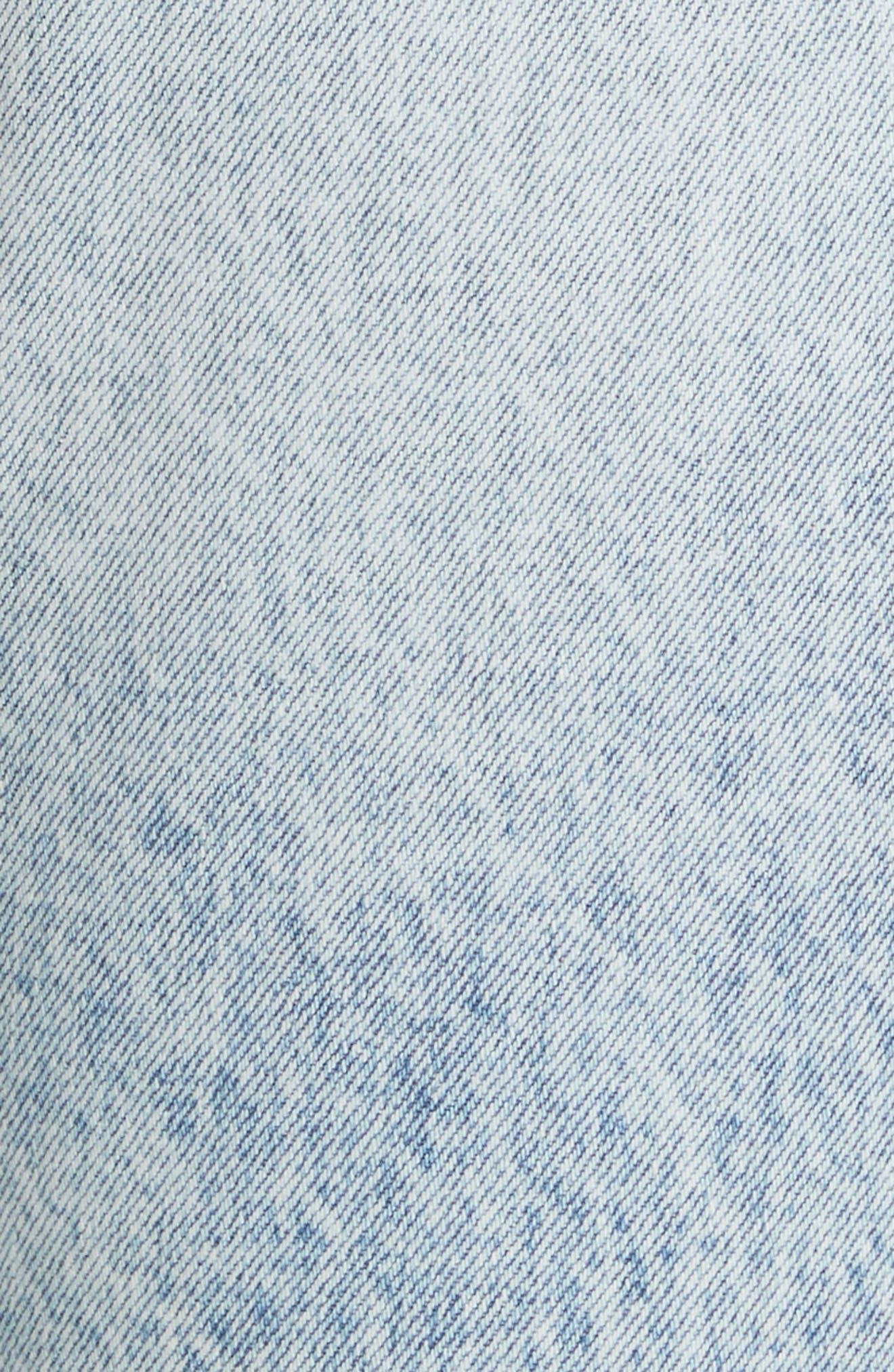 Karolina Ripped Skinny Jeans,                             Alternate thumbnail 5, color,                             Reactive