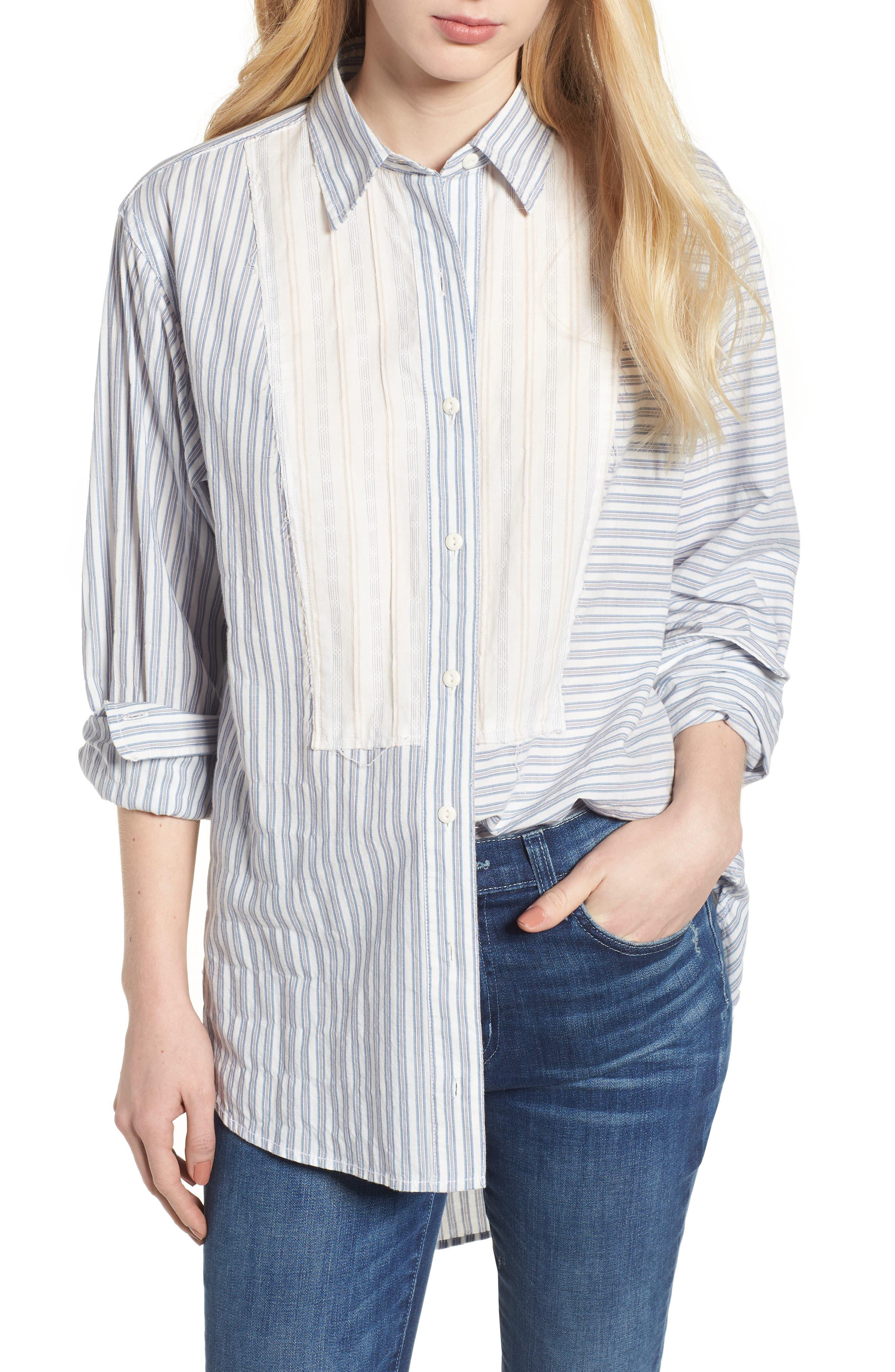 The Rosie Shirt,                         Main,                         color, Multicolor Stripe