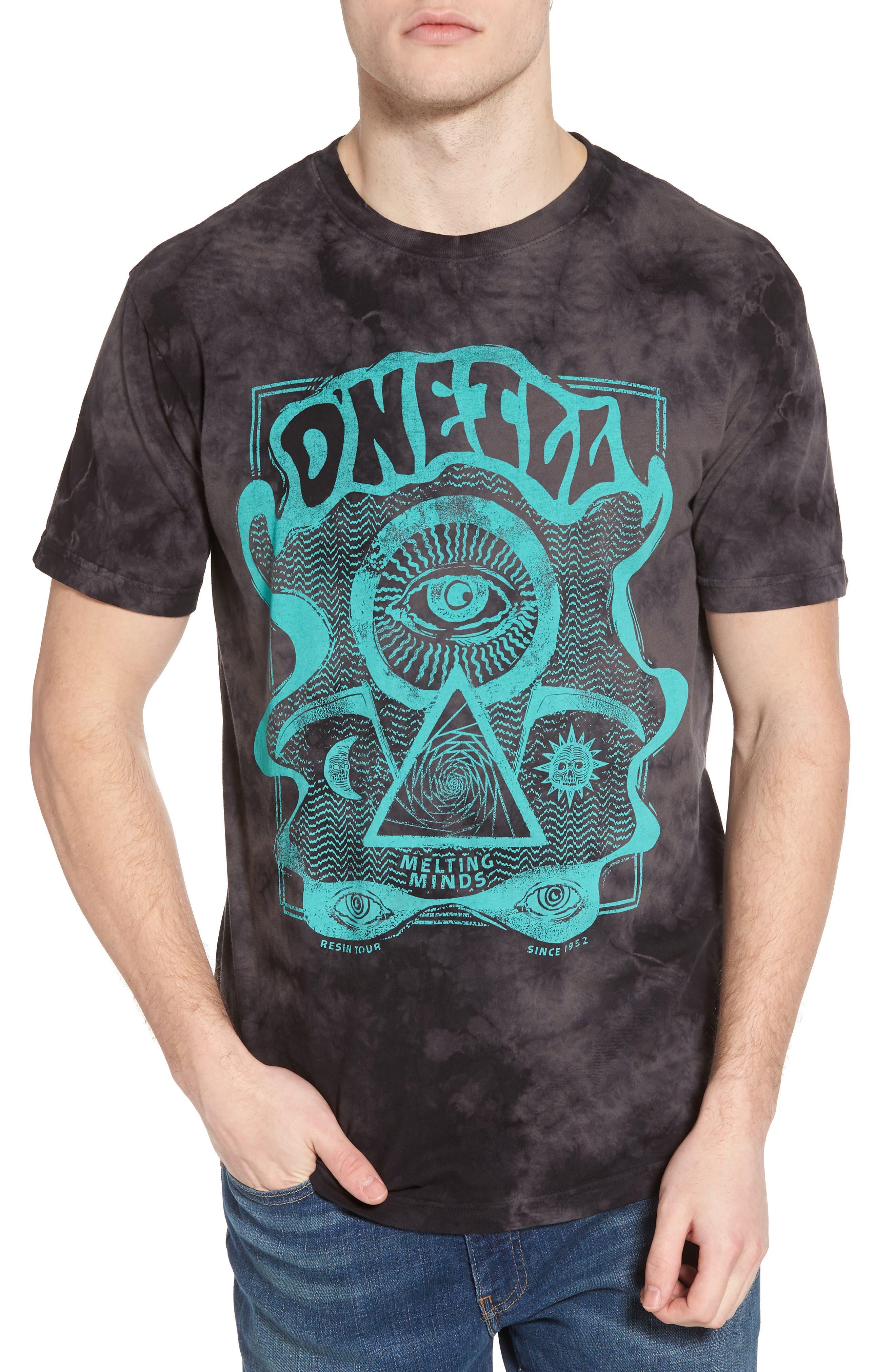 Cult Graphic T-Shirt,                         Main,                         color, Black Wash