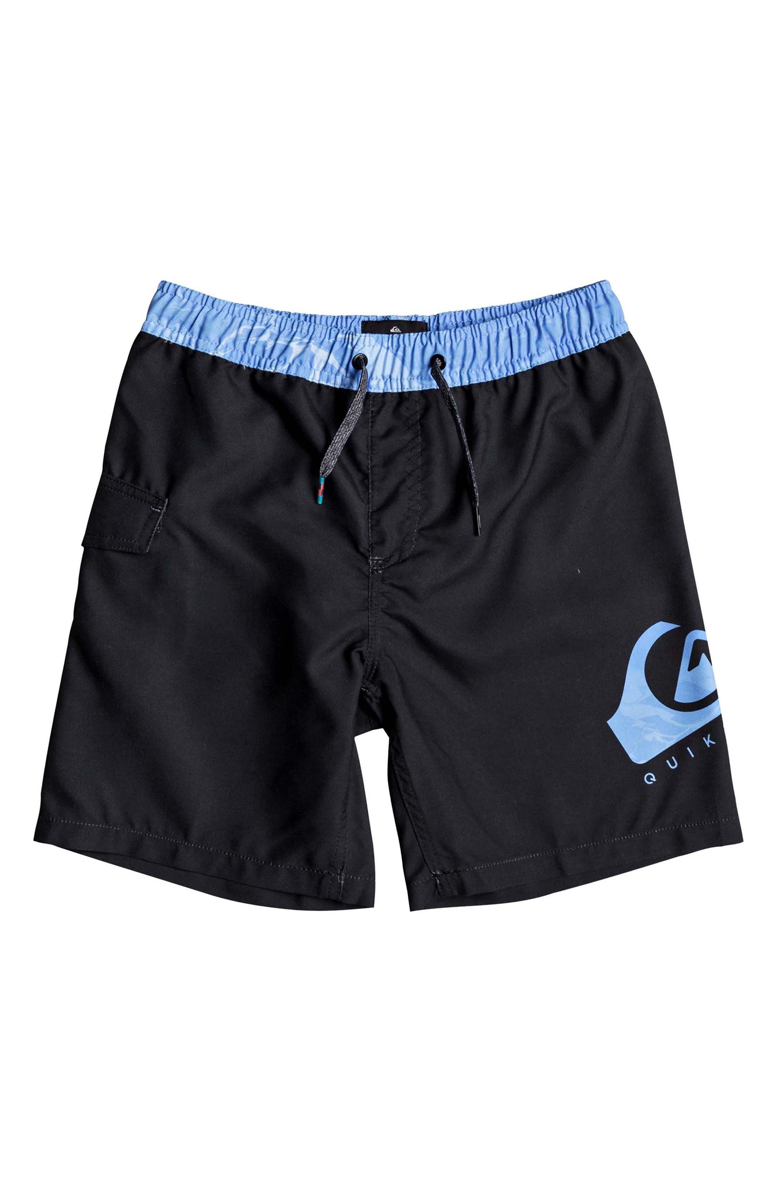 Quiksilver Lava Logo Volley Shorts (Toddler Boys & Little Boys)