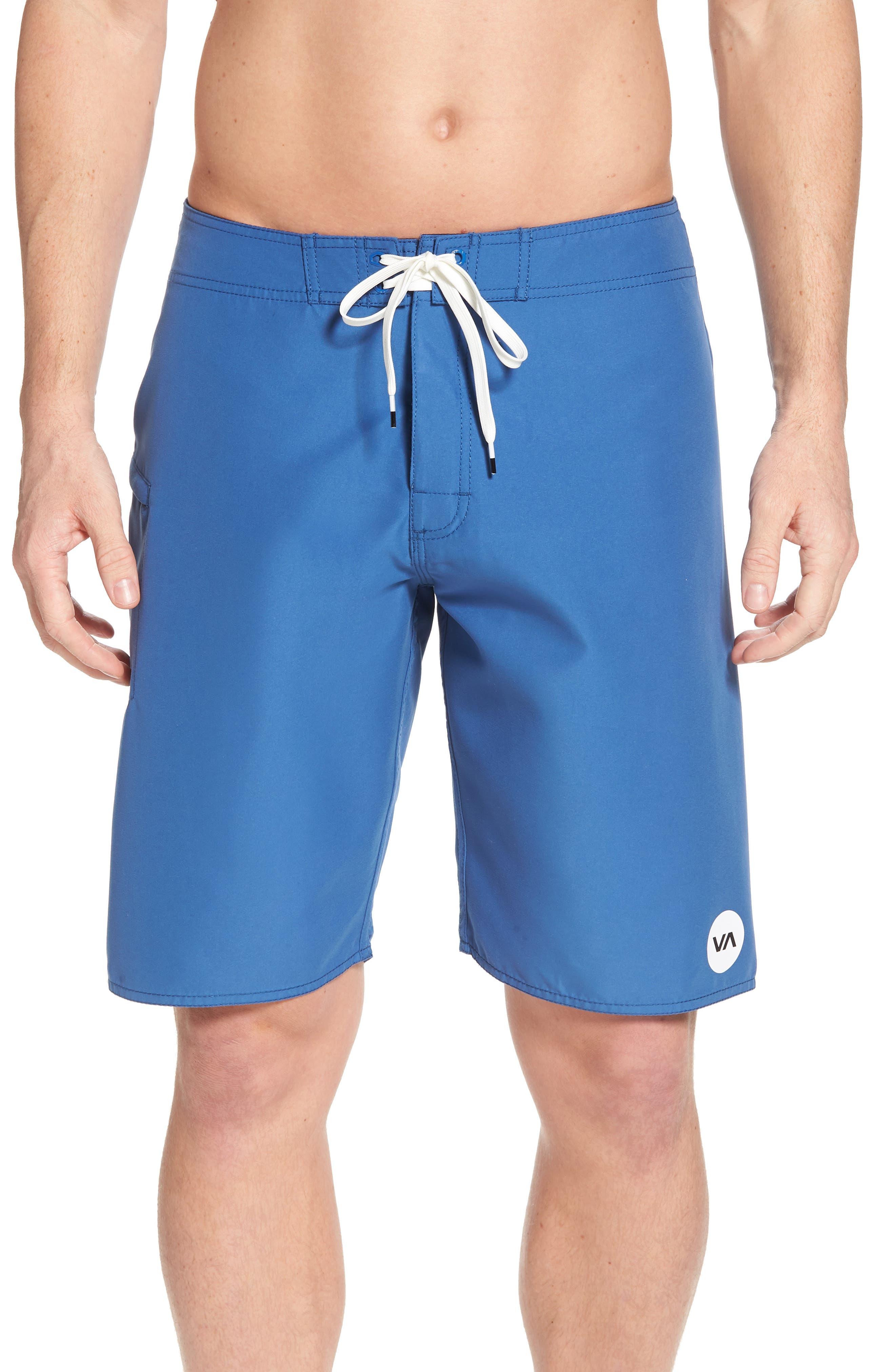 Upper Board Shorts,                         Main,                         color, Cobalt