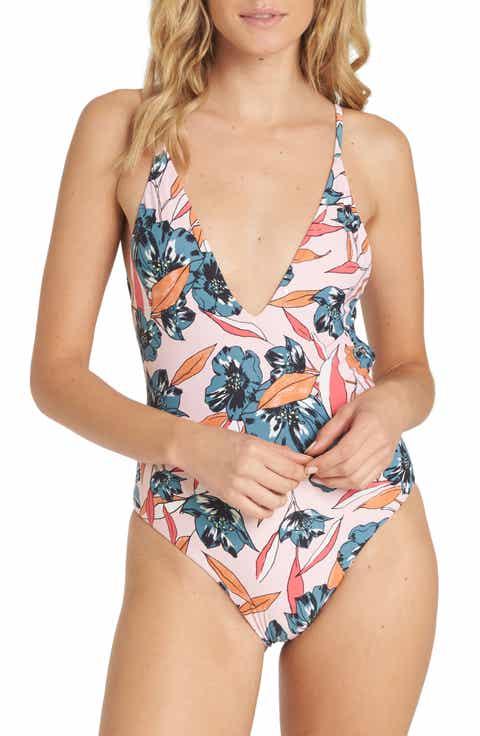 Billabong Coastal Luv Print One-Piece Swimsuit