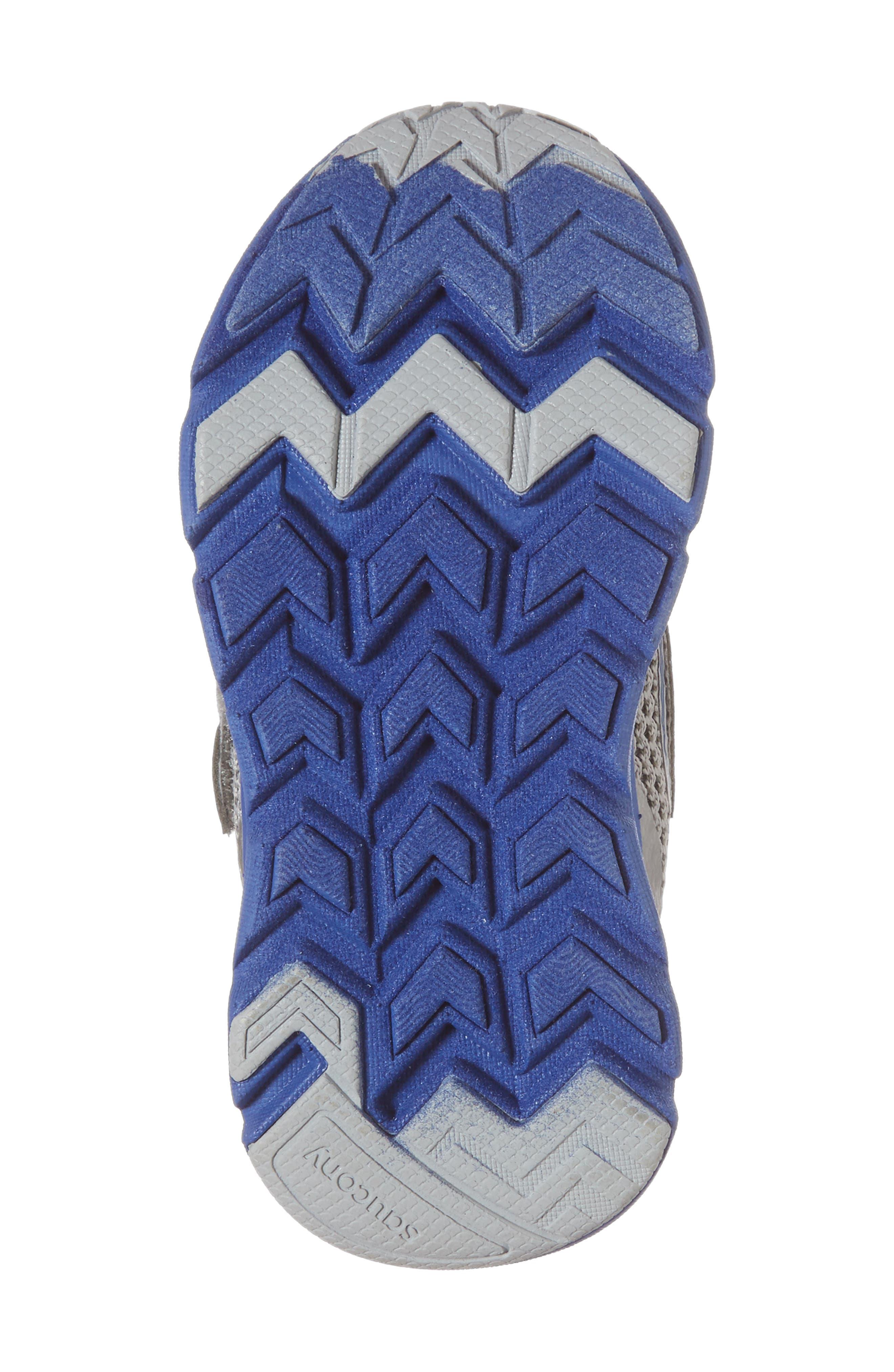 Baby Liteform Sneaker,                             Alternate thumbnail 6, color,                             Grey/ Blue