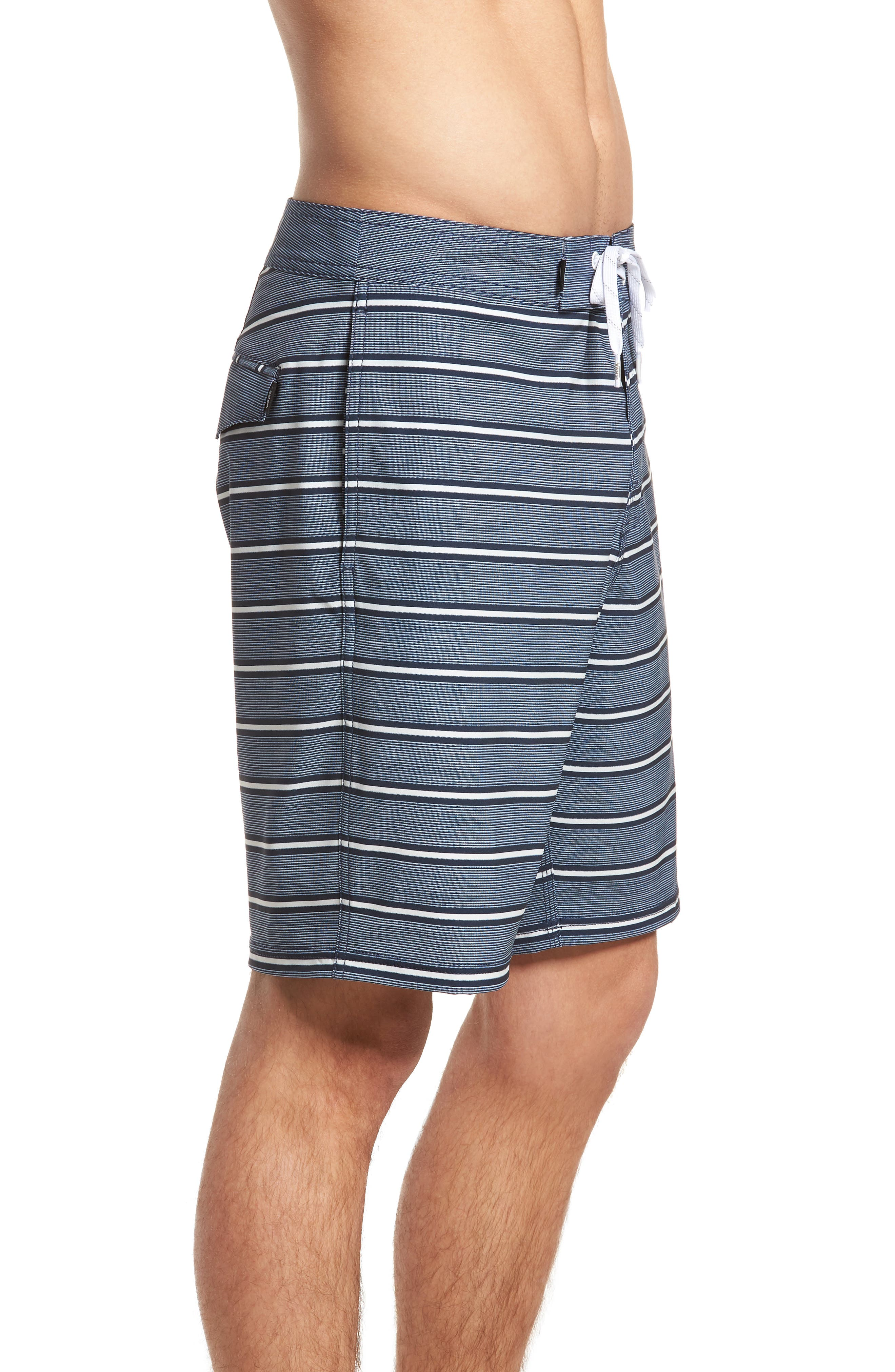 Rooftop Board Shorts,                             Alternate thumbnail 3, color,                             Dress Blues