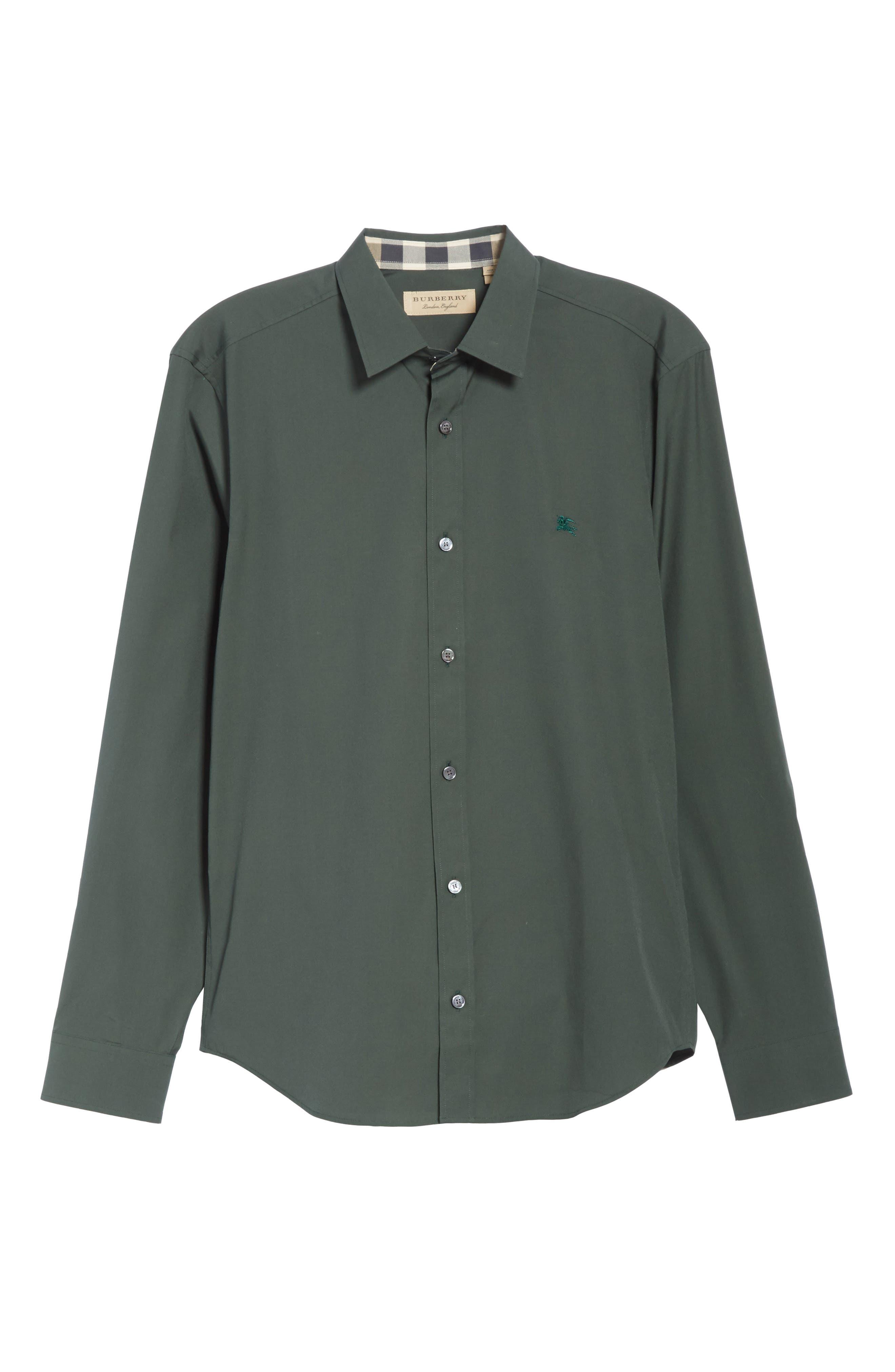 Alternate Image 6  - Burberry Cambridge Aboyd Sport Shirt