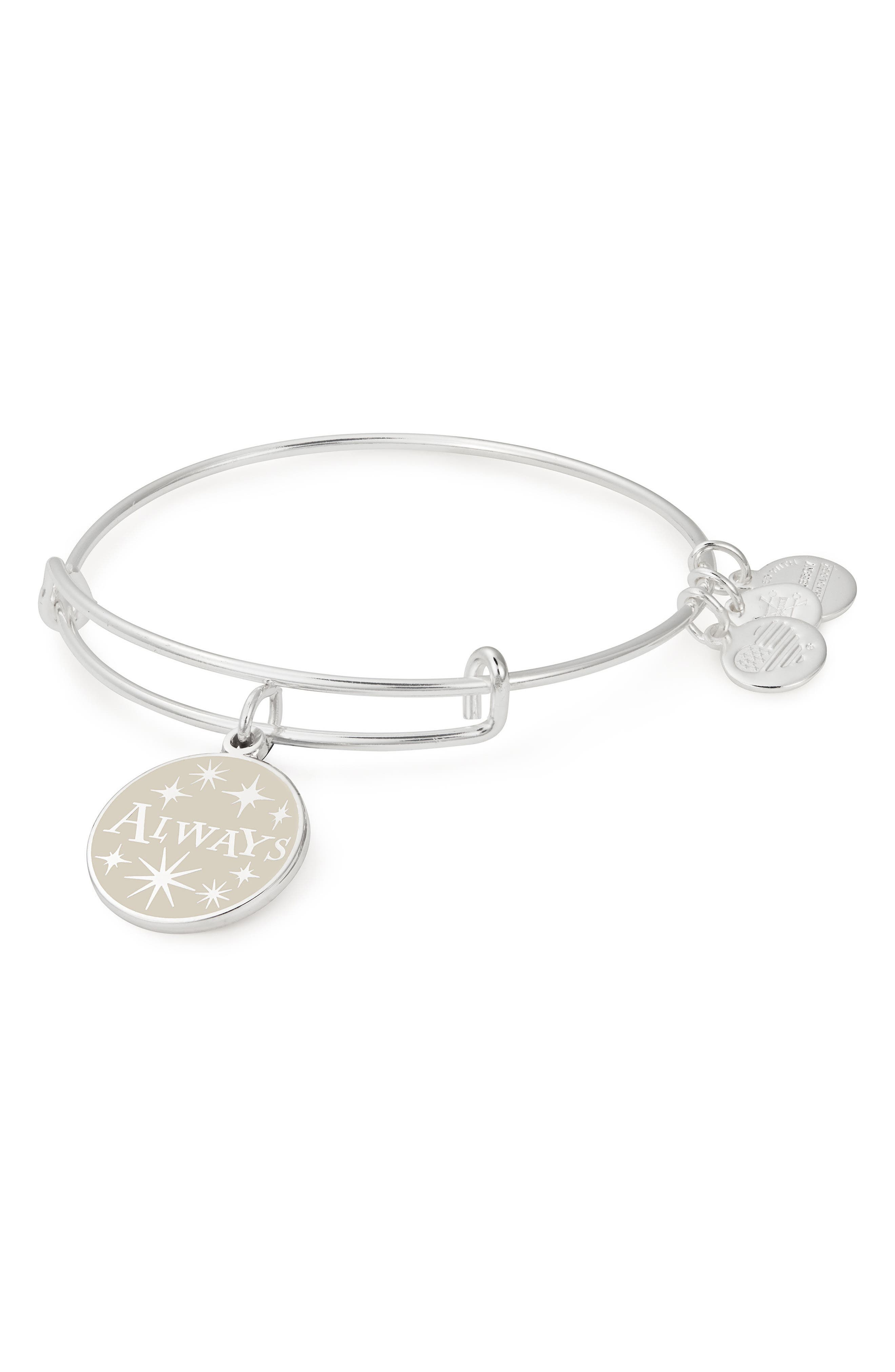 Harry Potter<sup>™</sup> Always Bangle,                             Main thumbnail 1, color,                             Silver