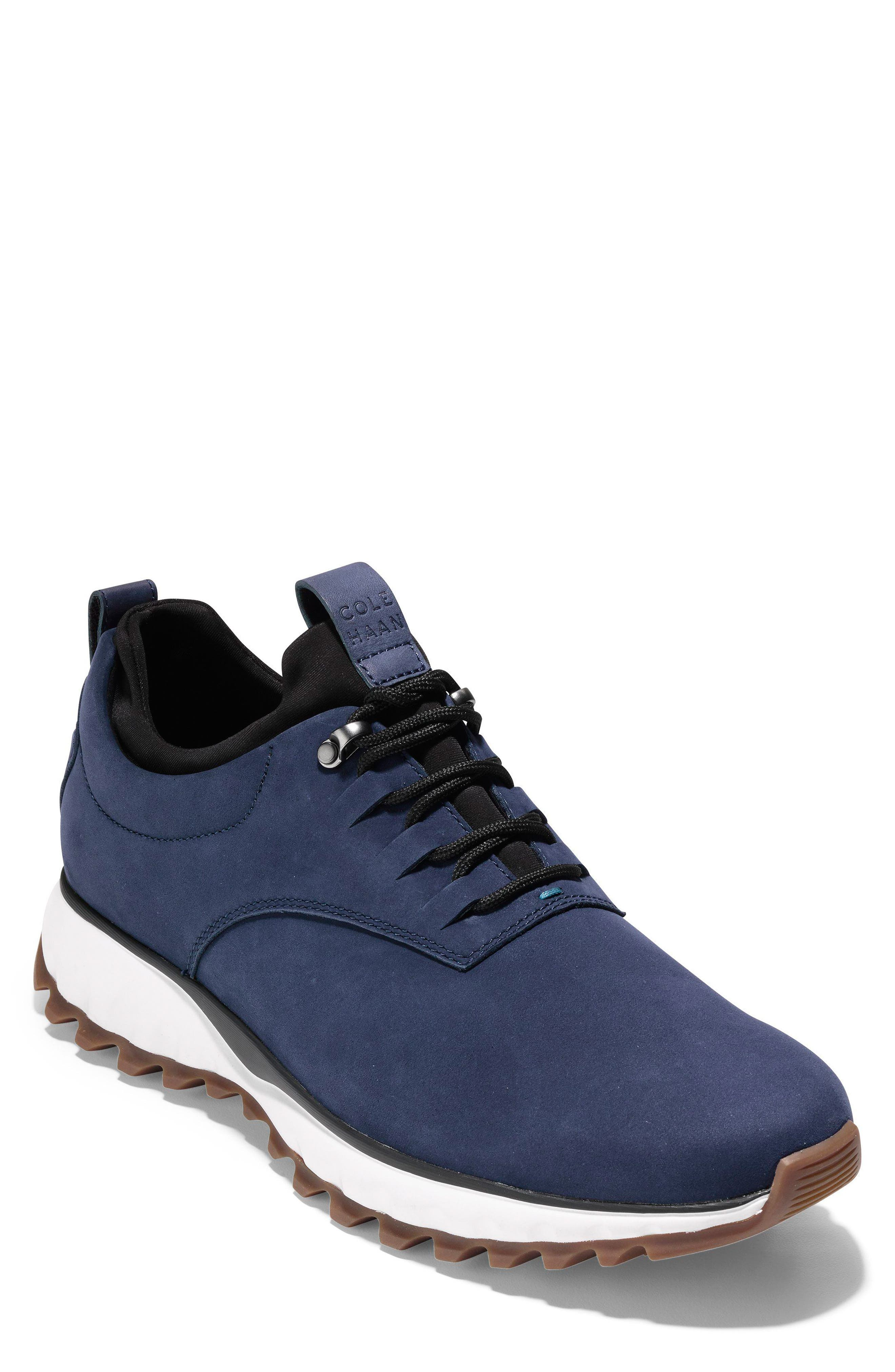 GrandExpløre All Terrain Waterproof Sneaker,                             Main thumbnail 1, color,                             Marine Blue Nubuck