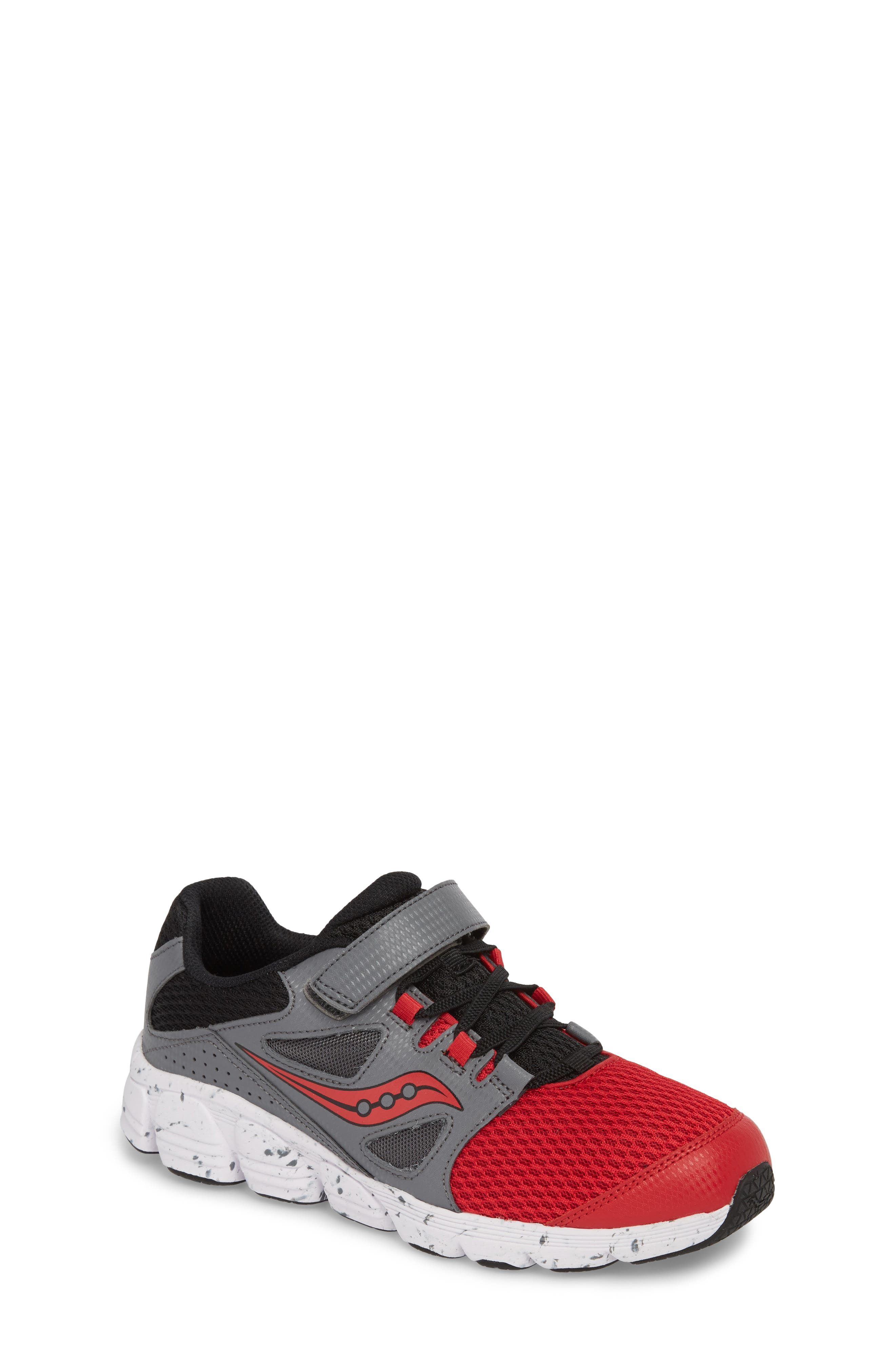 Kotaro 4 Sneaker,                             Main thumbnail 1, color,                             Red/ Grey