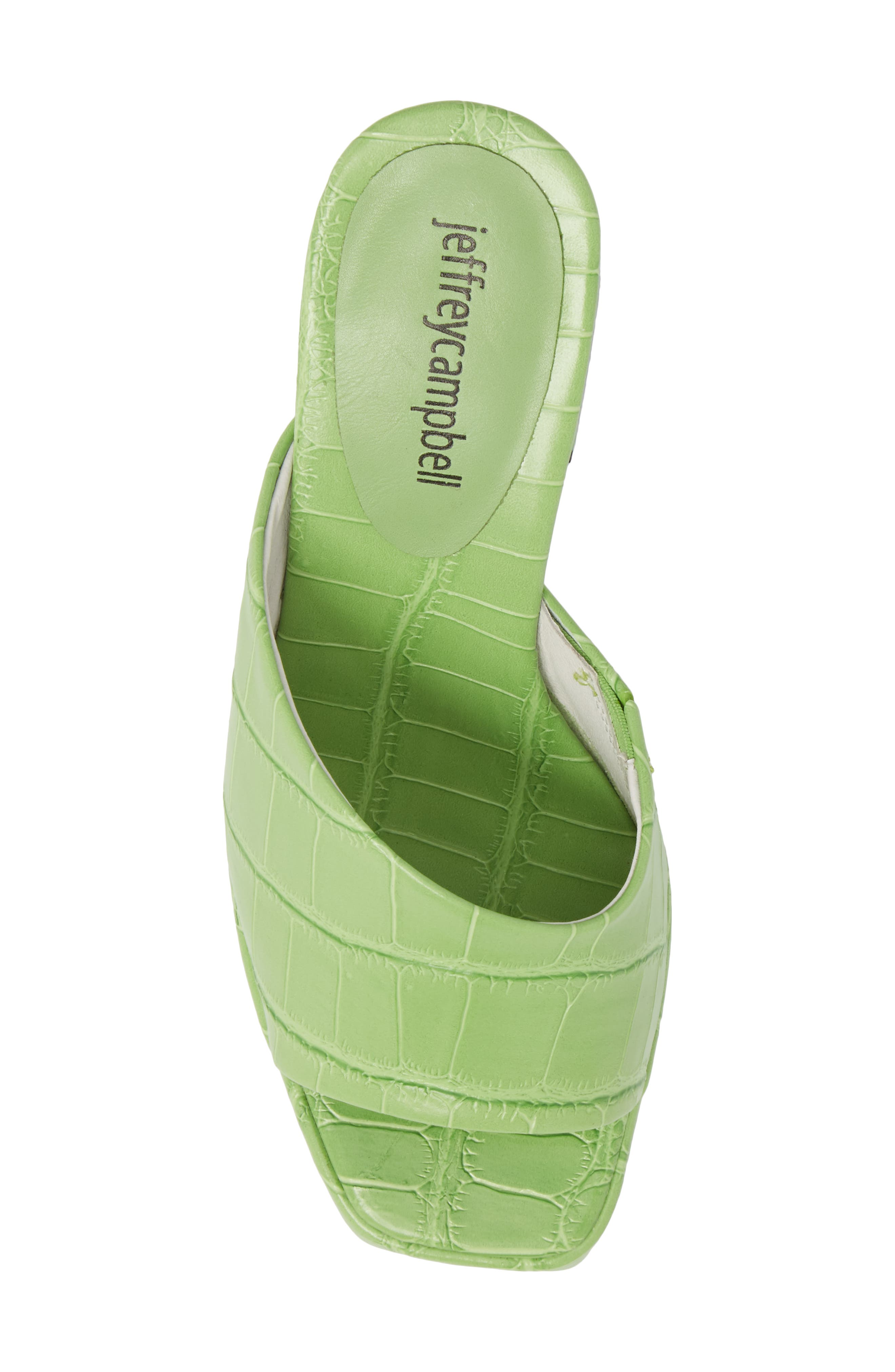 Suzuci Sandal,                             Alternate thumbnail 5, color,                             Green Leather