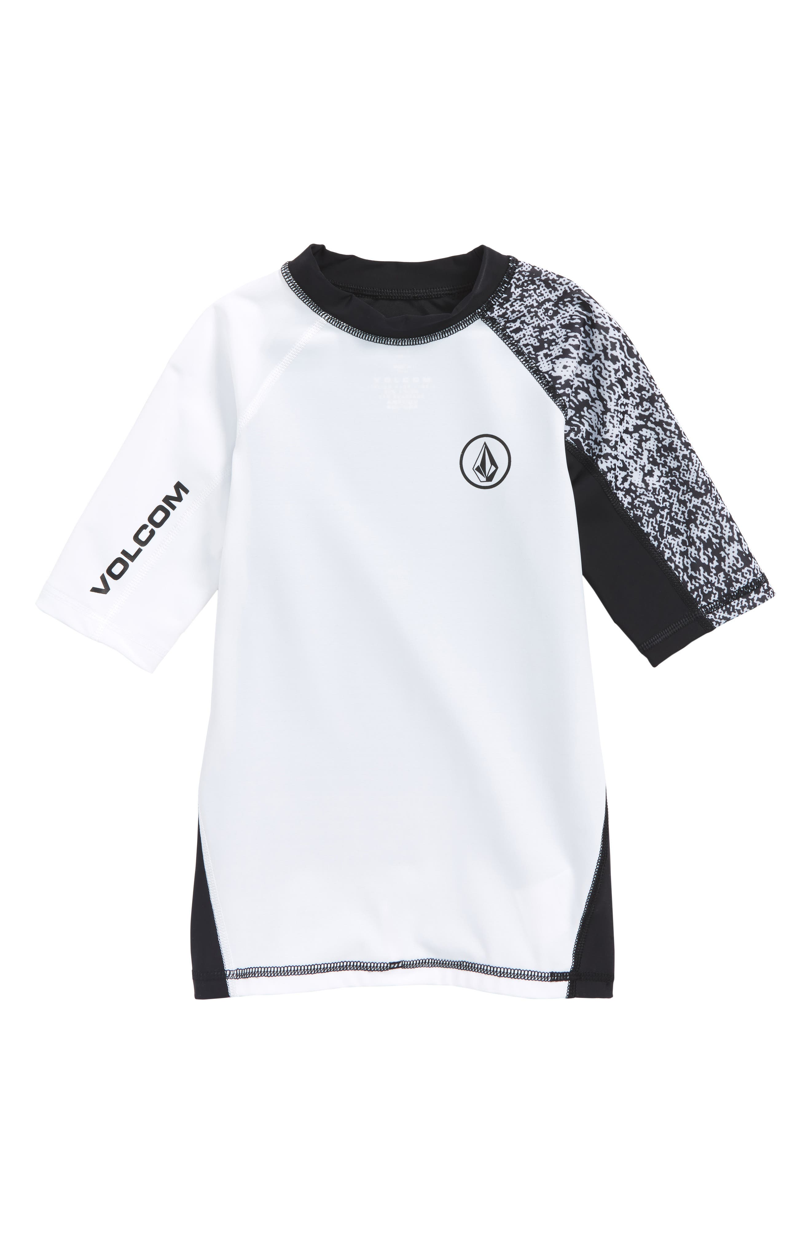 Volcom Lido Block Short Sleeve Rashguard (Big Boys)