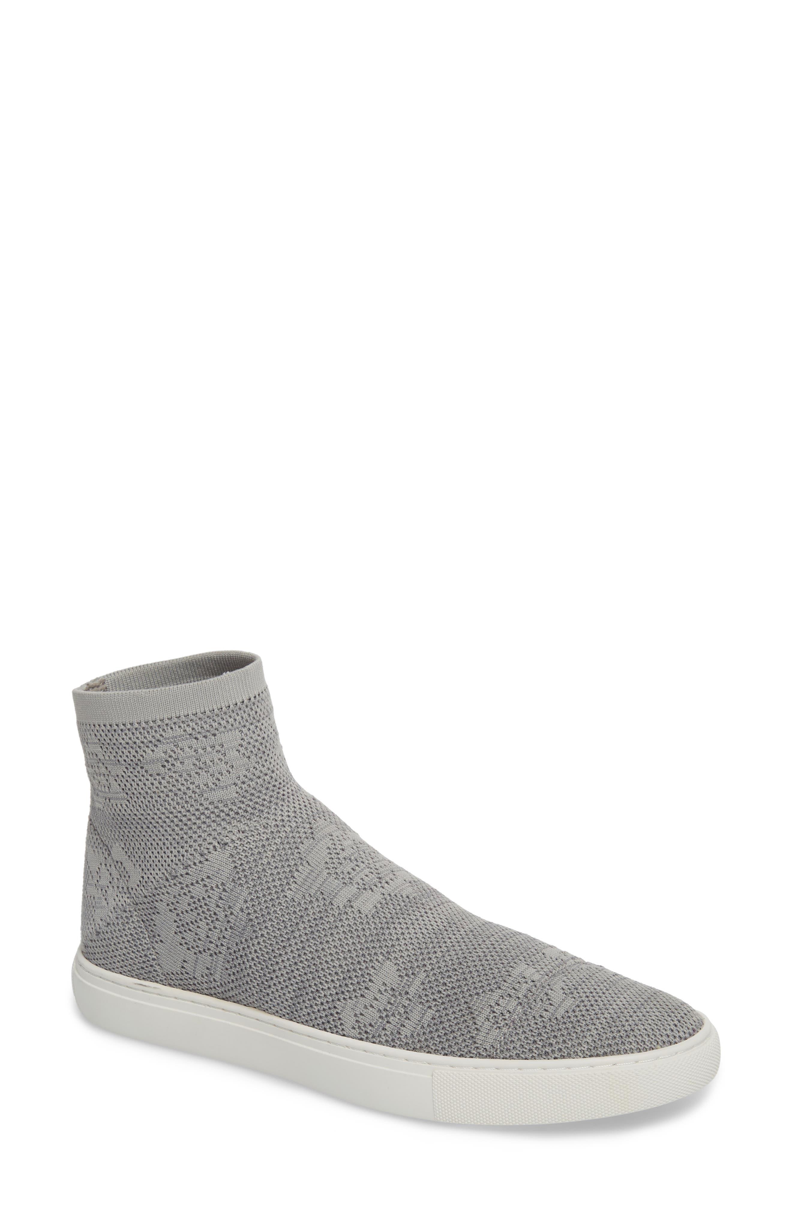 Keating Sneaker,                         Main,                         color, Dust Grey Fabric