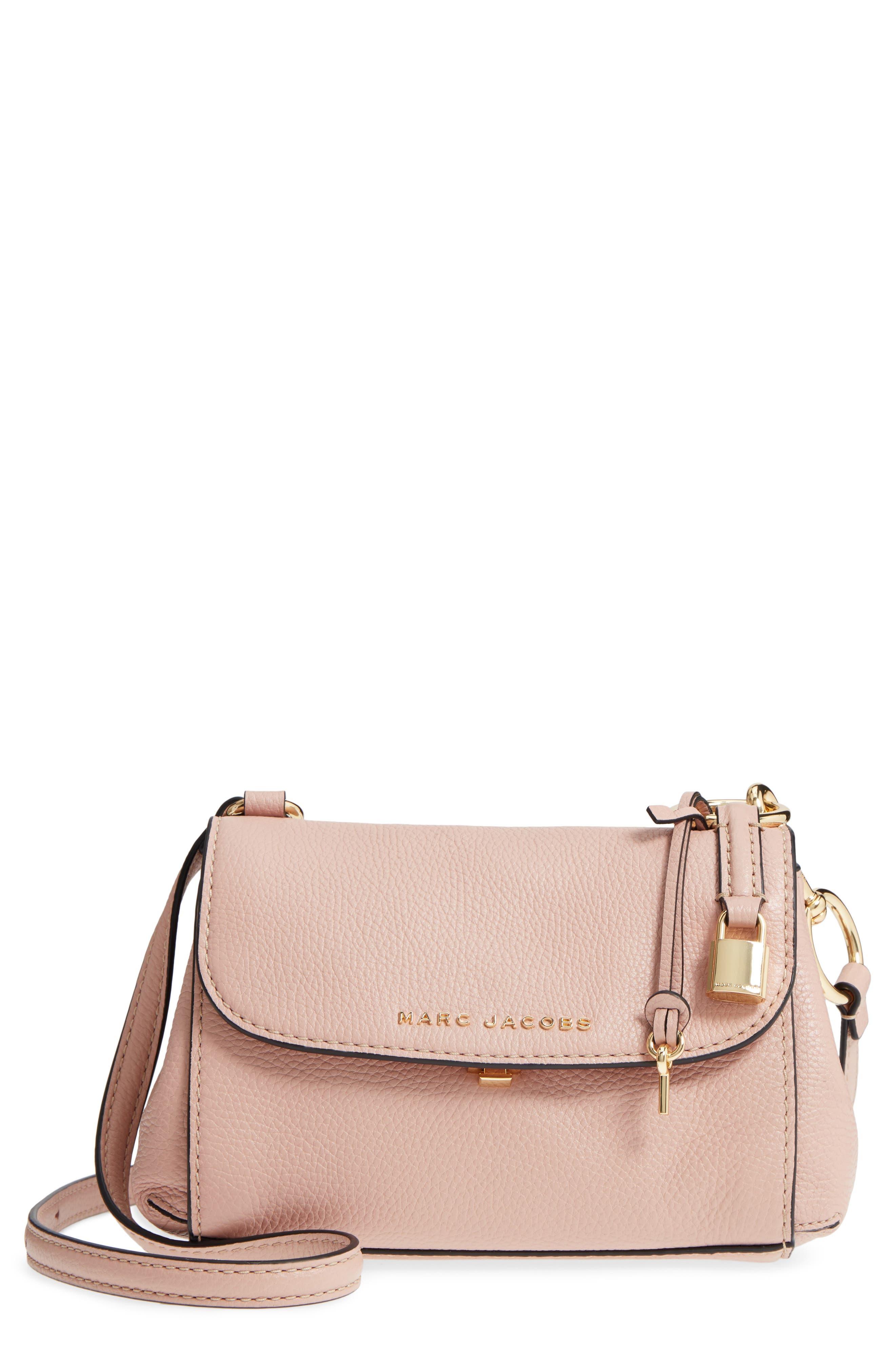MARC JACOBS Mini The Boho Grind Leather Shoulder Bag