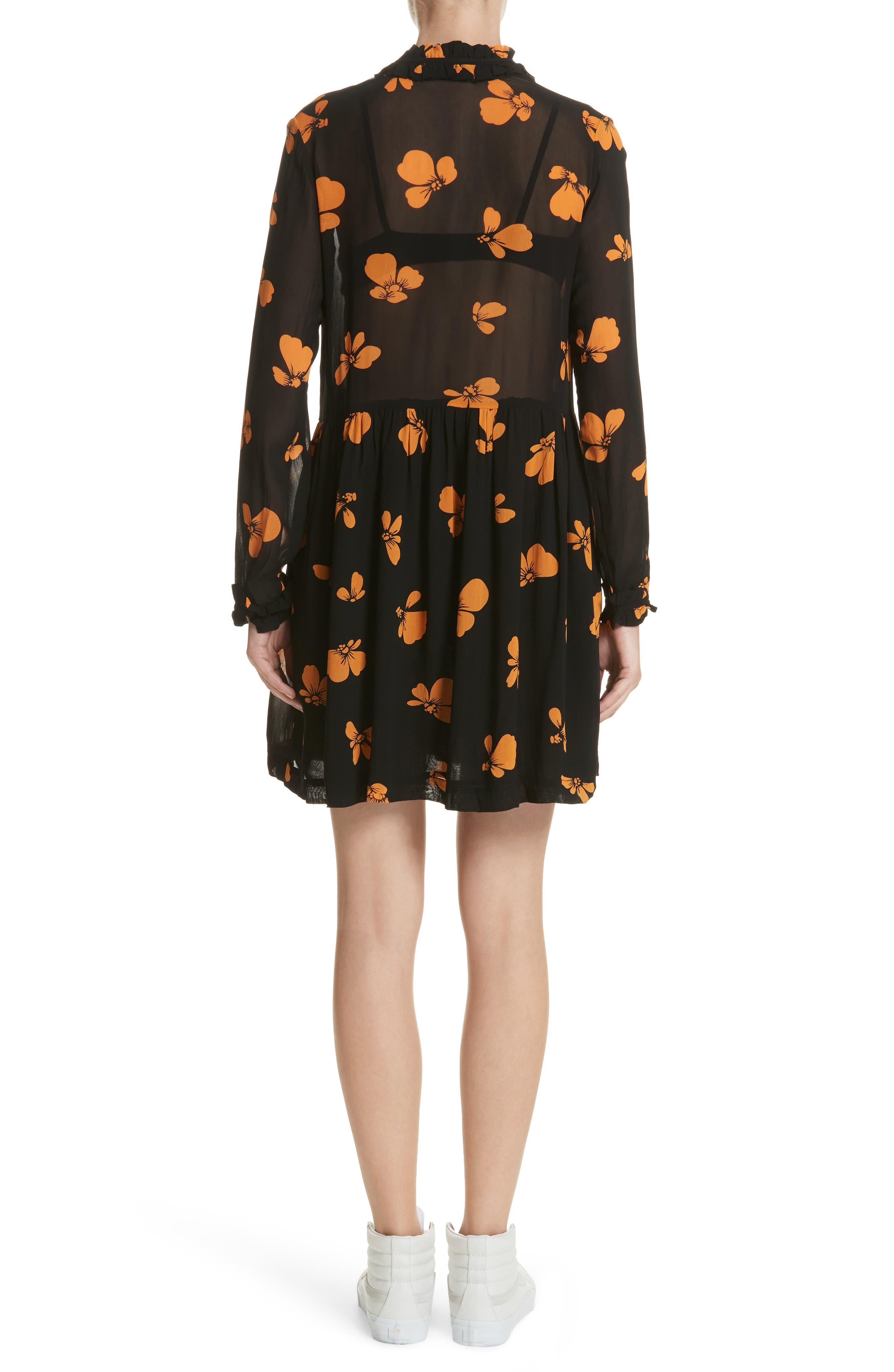 Alternate Image 2  - GANNI Fairfax Georgette Dress