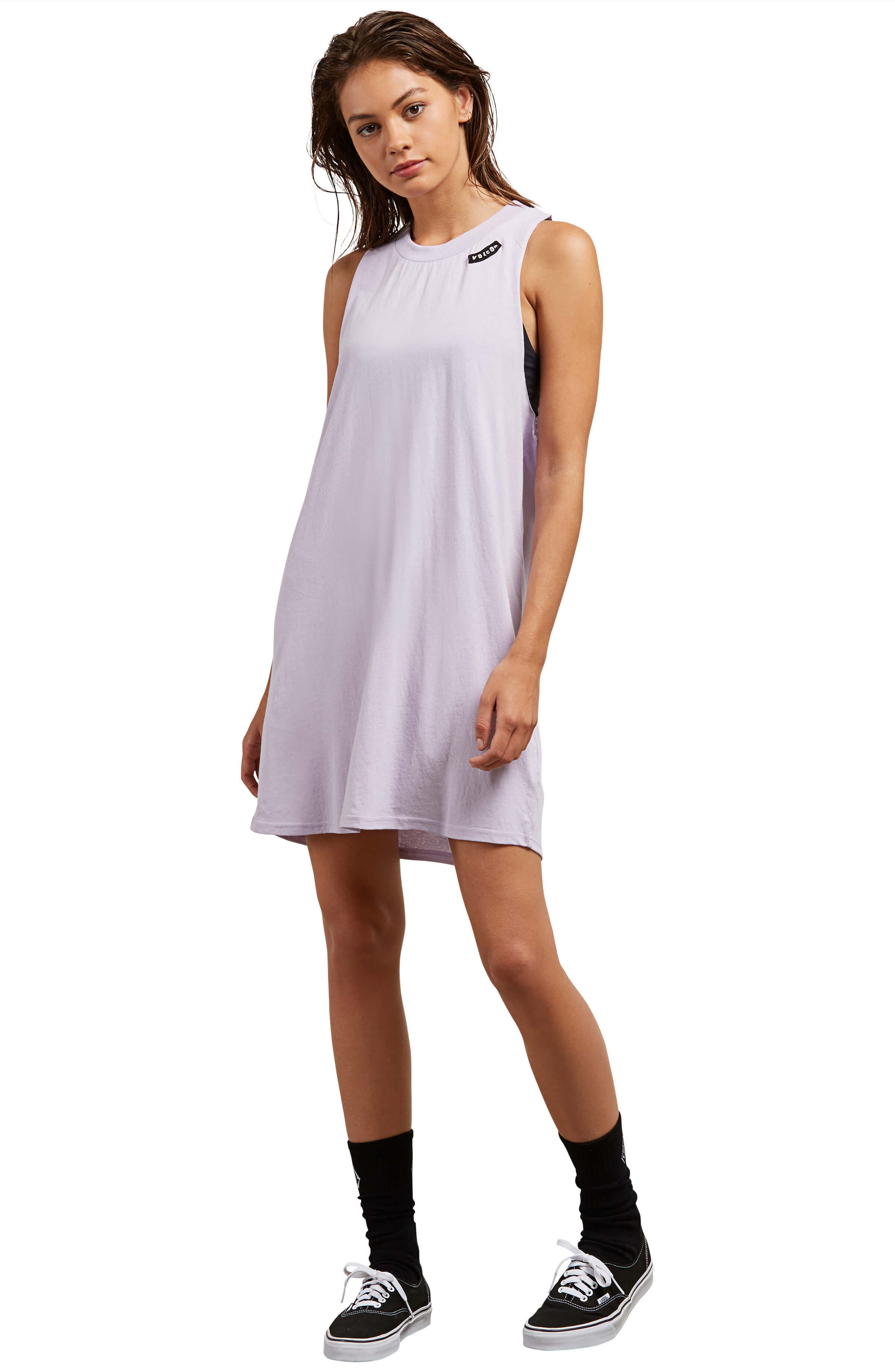 Day by Day Tank Dress,                             Alternate thumbnail 2, color,                             Lavender