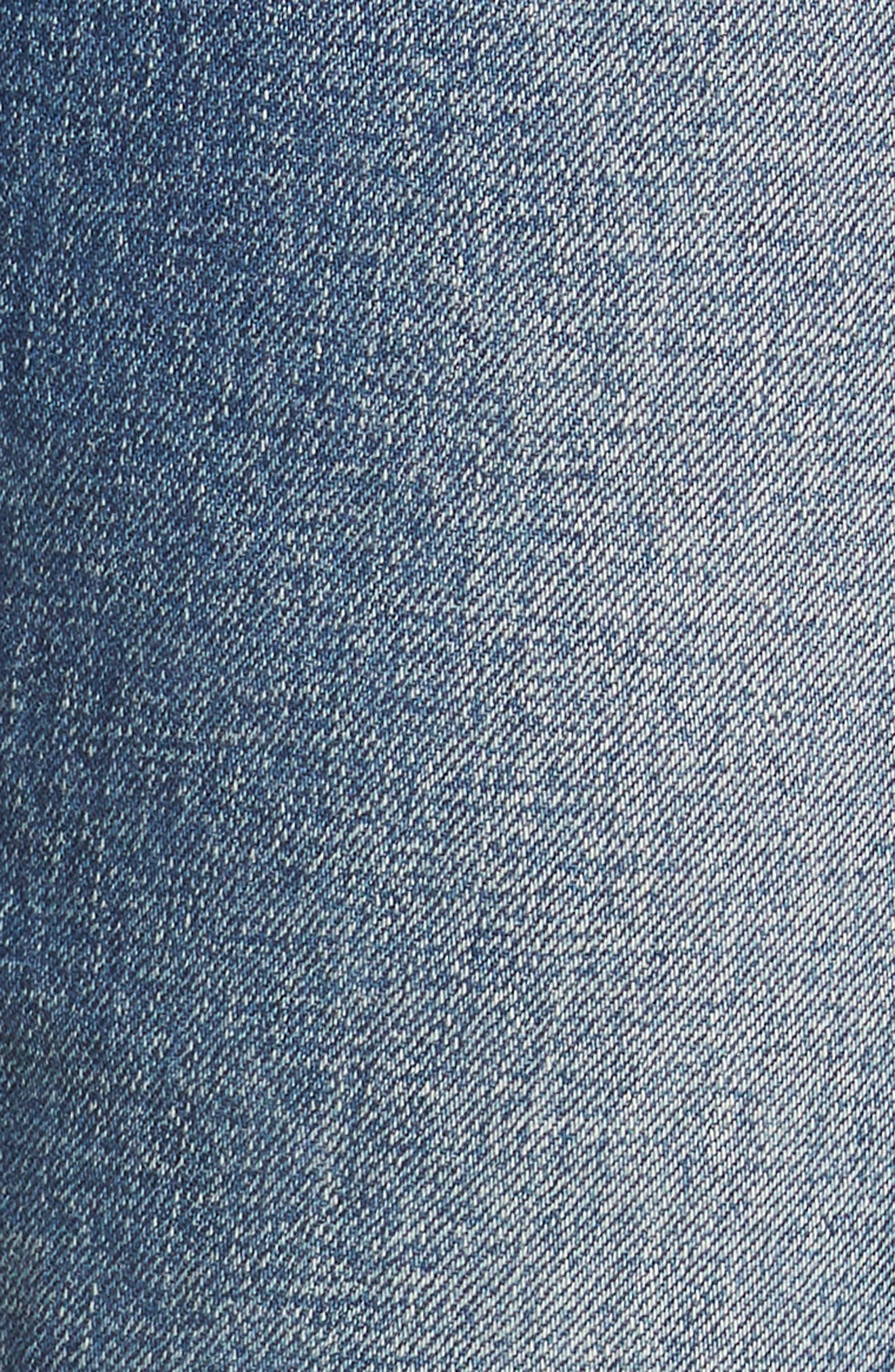 Vintage Icon Ankle Skinny Jeans,                             Alternate thumbnail 6, color,                             Bailee