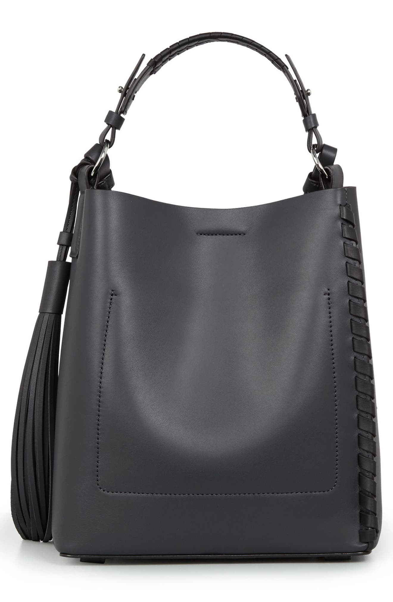 Alternate Image 2  - ALLSAINTS Kepi Leather Shoulder Bag