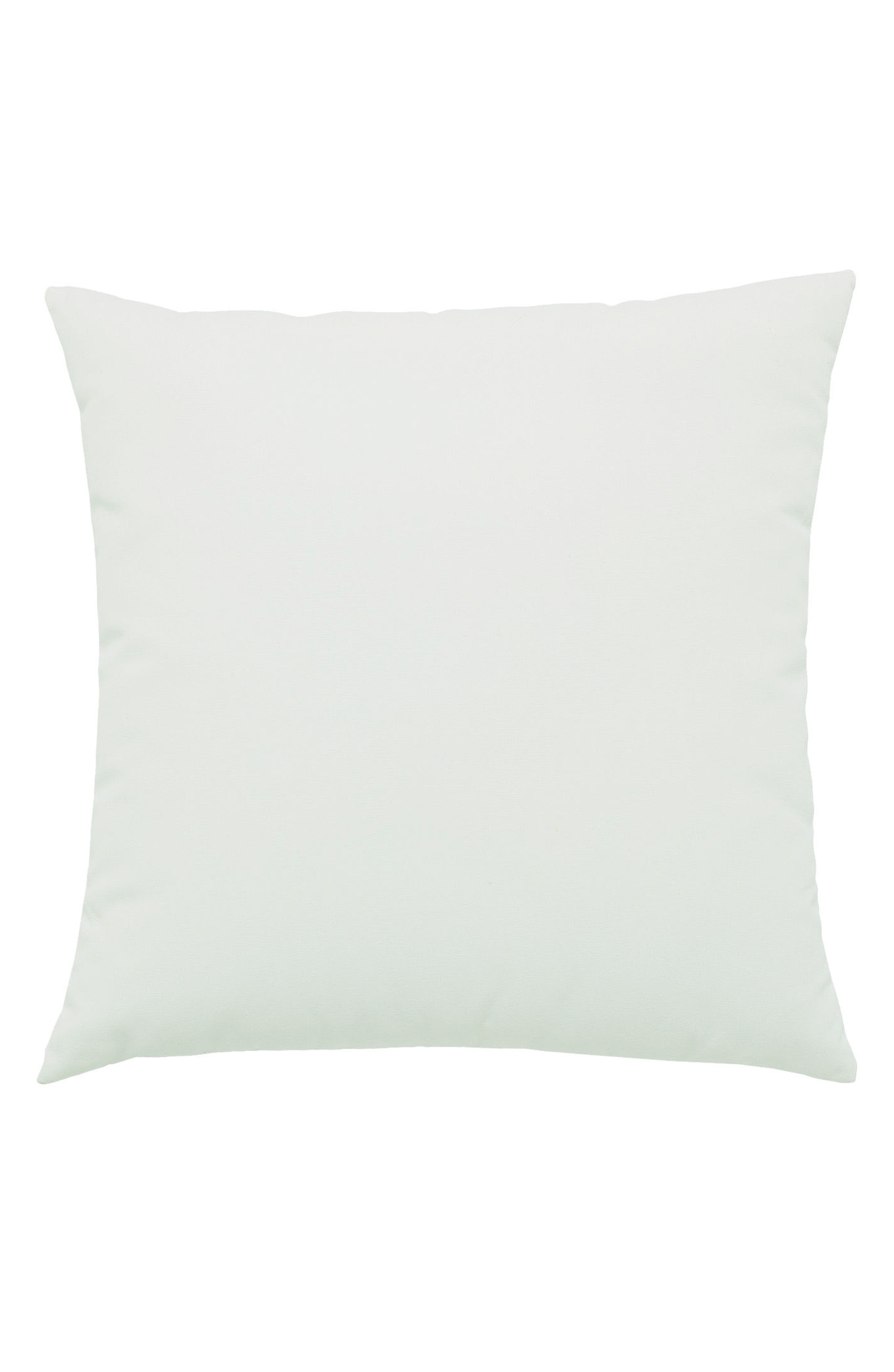 Eden Basket Weave Indoor/Outdoor Accent Pillow,                             Alternate thumbnail 2, color,                             Green/ Blue