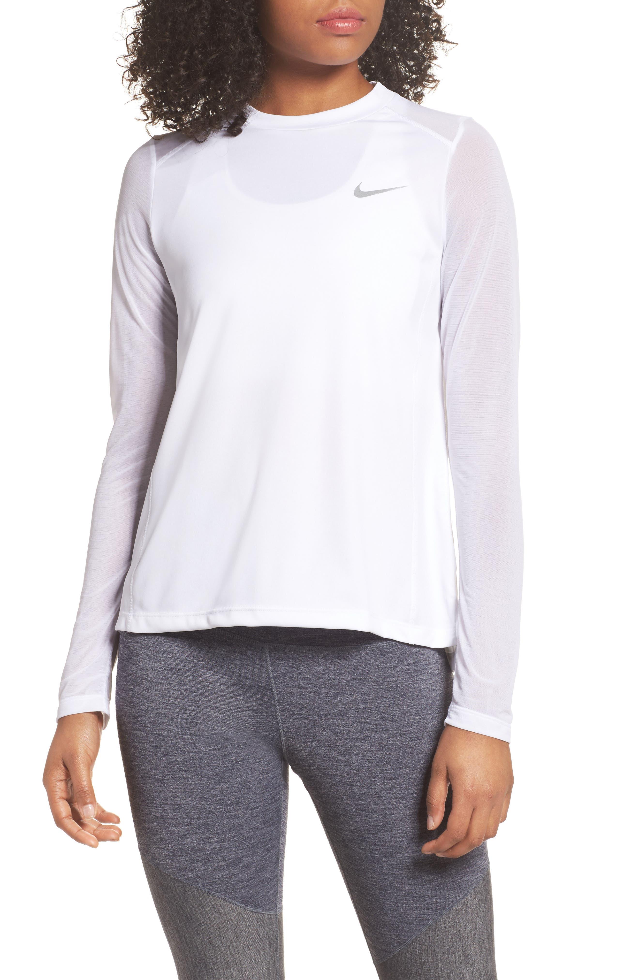 Nike Miler Dry Long Sleeve Tee