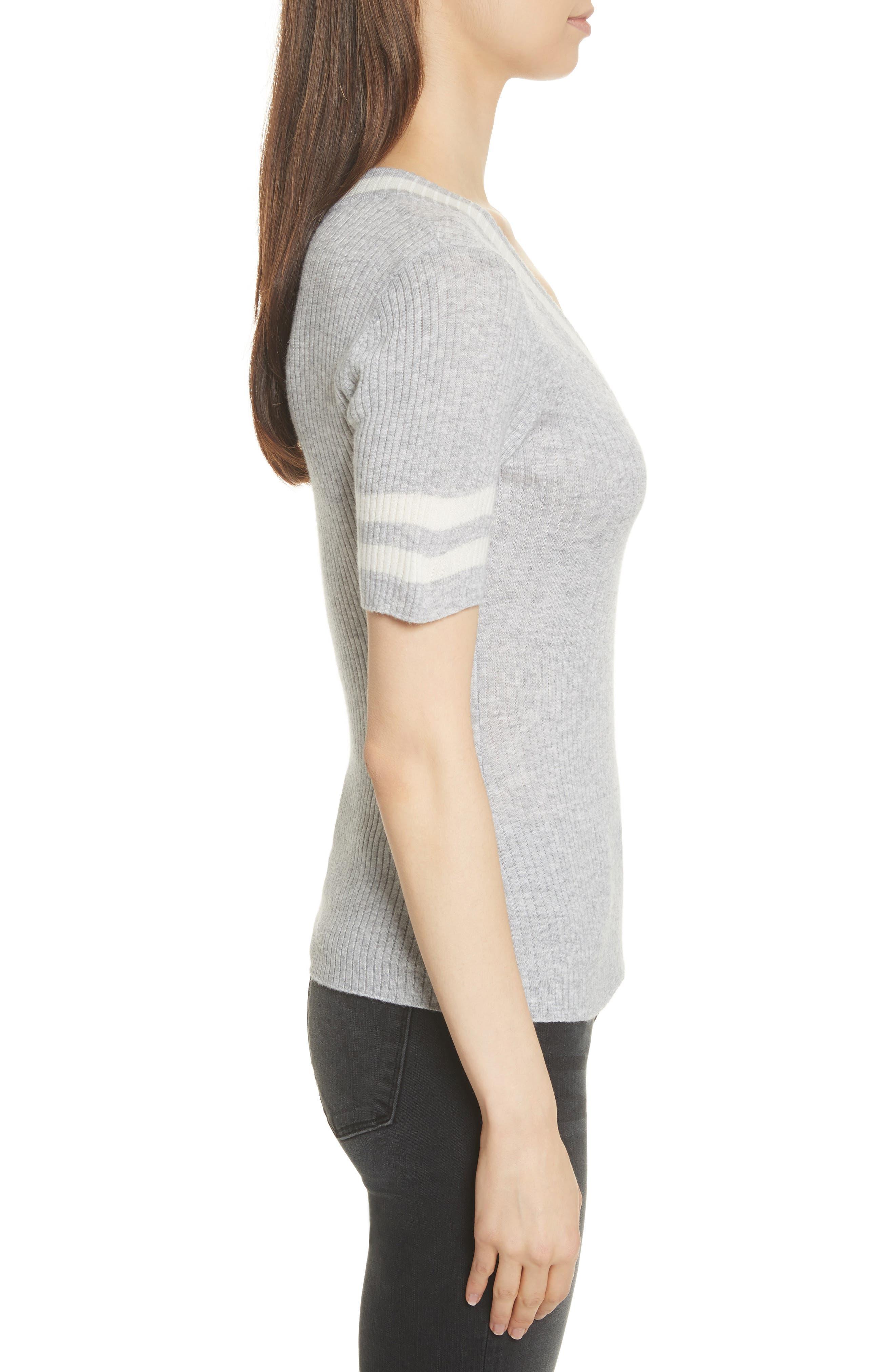 Alternate Image 4  - FRAME Varsity Sweater