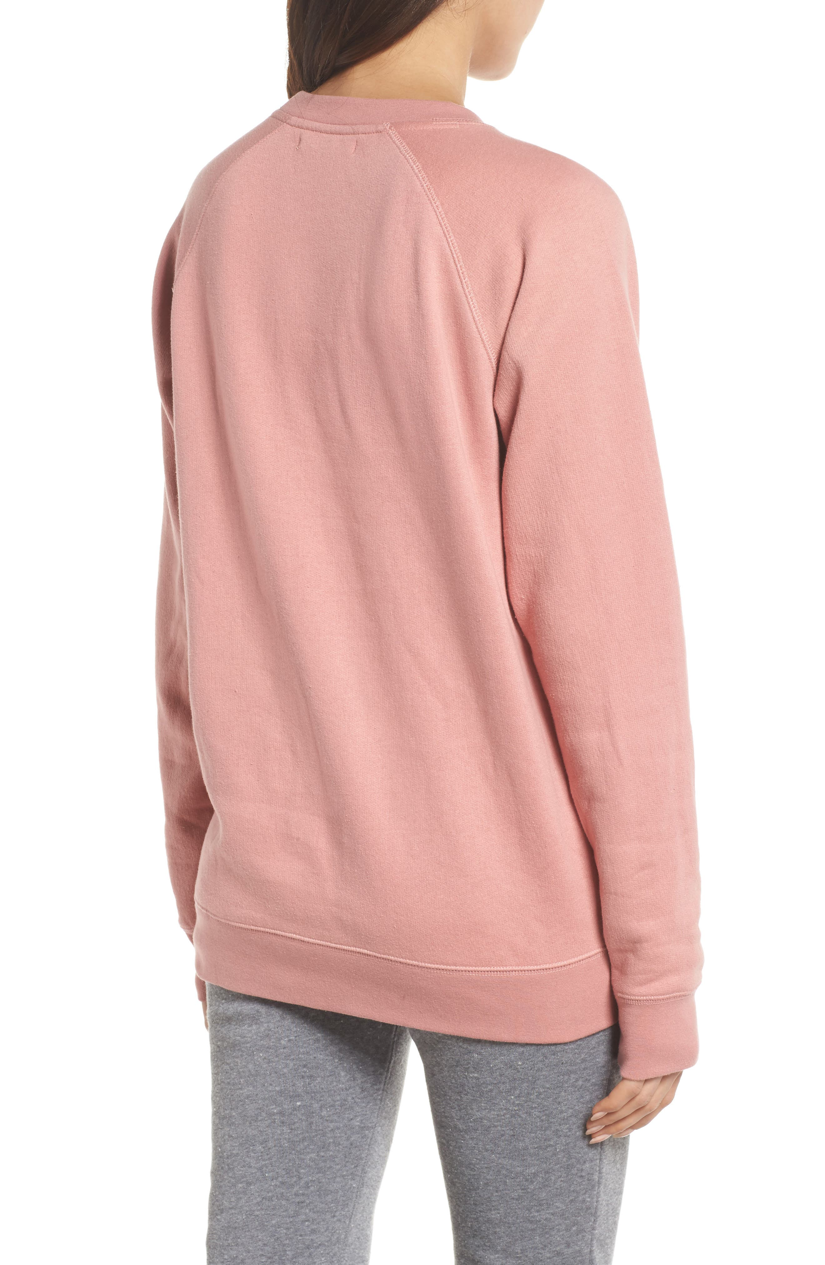 You Can Sip With Us Sweatshirt,                             Alternate thumbnail 2, color,                             Dusty Rose