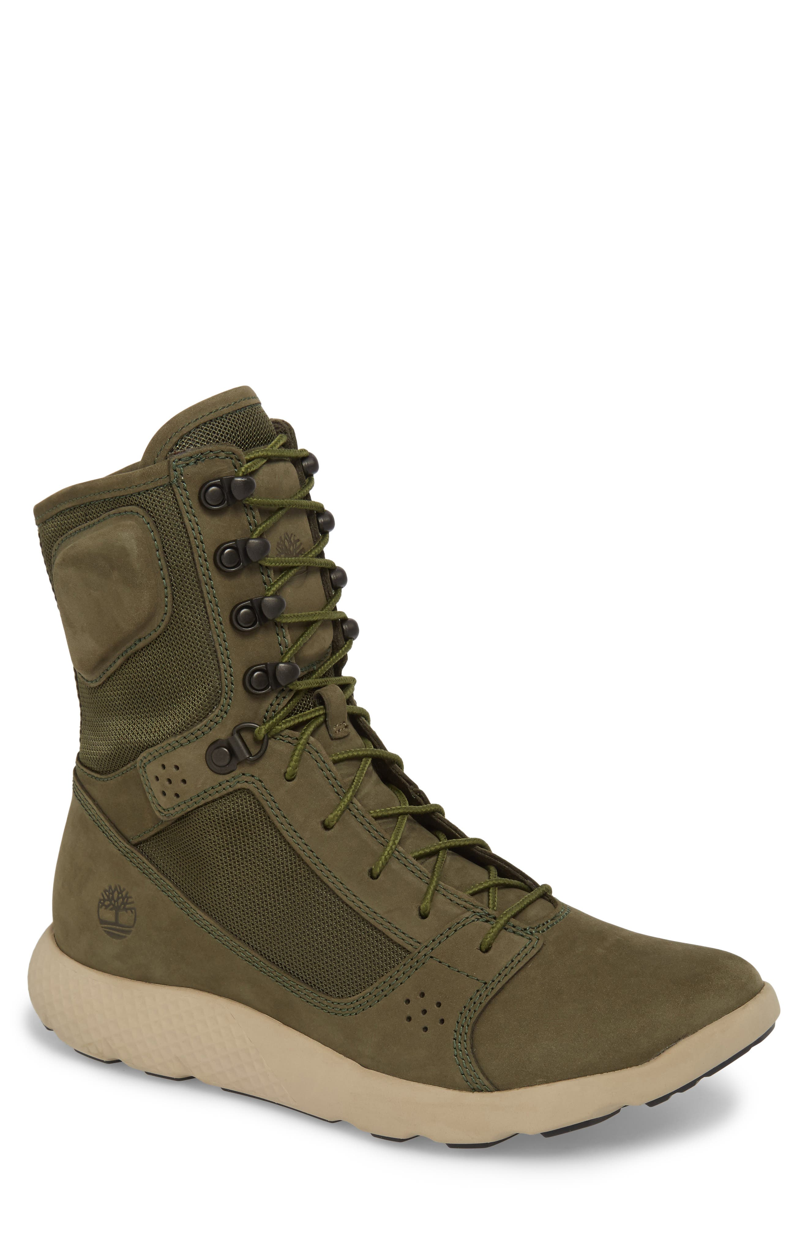 FlyRoam Tactical Boot,                             Main thumbnail 1, color,                             Grape Leaf Nubuck Leather