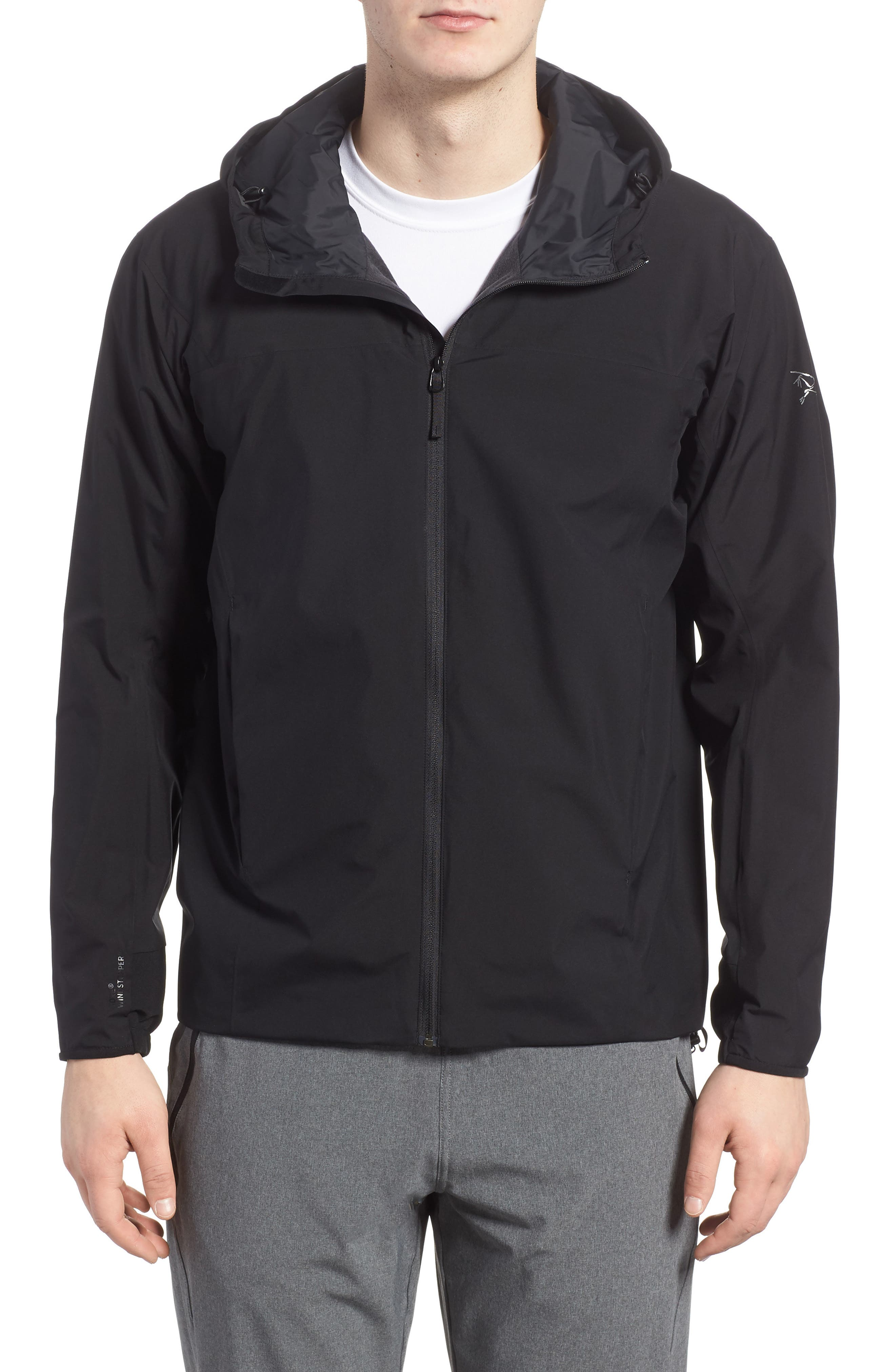 Arc'teryx Solano Windstopper® Trim Fit Water Resistant Jacket