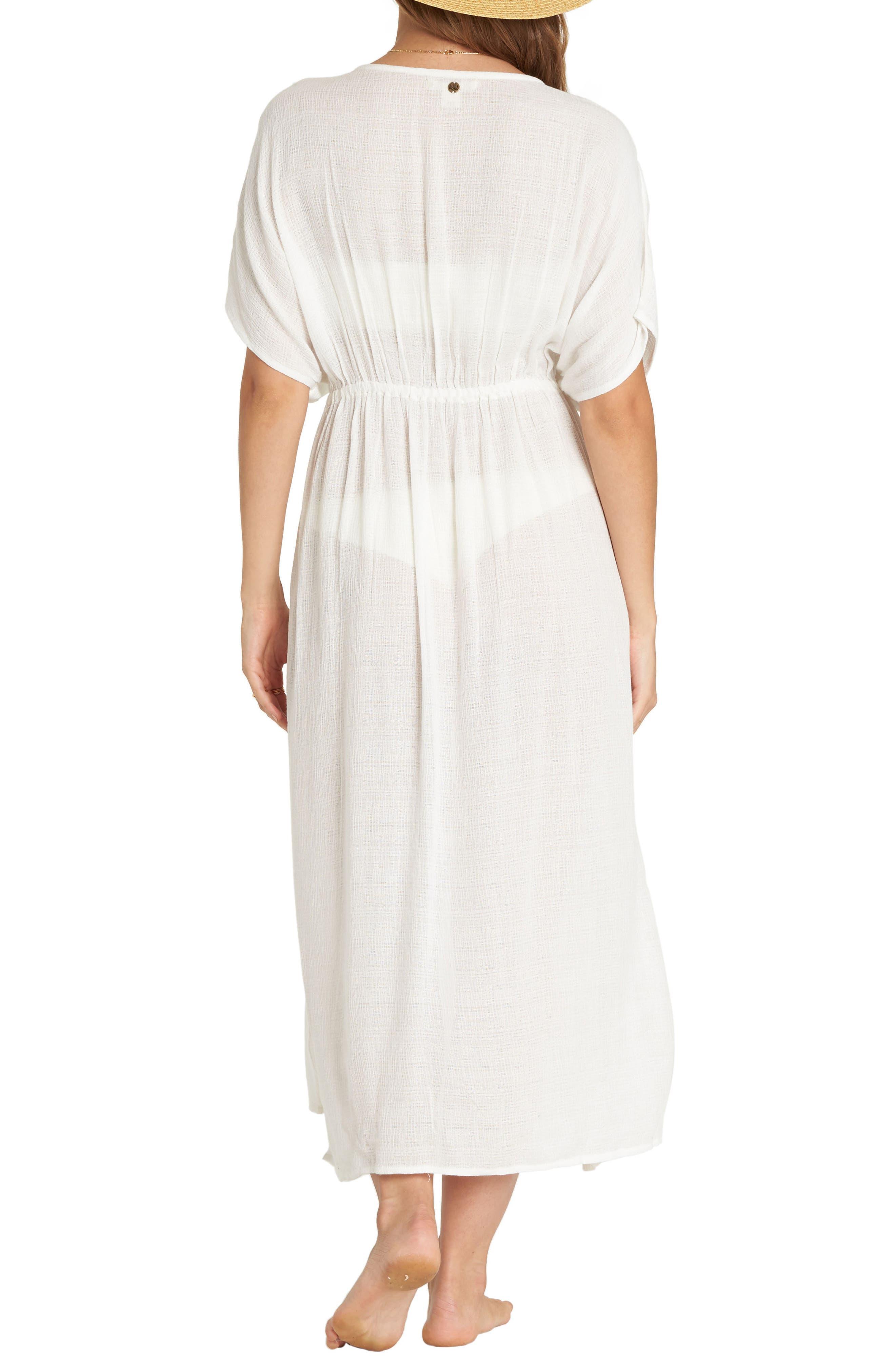 Shape Shift Cover-Up Dress,                             Alternate thumbnail 2, color,                             Seashell