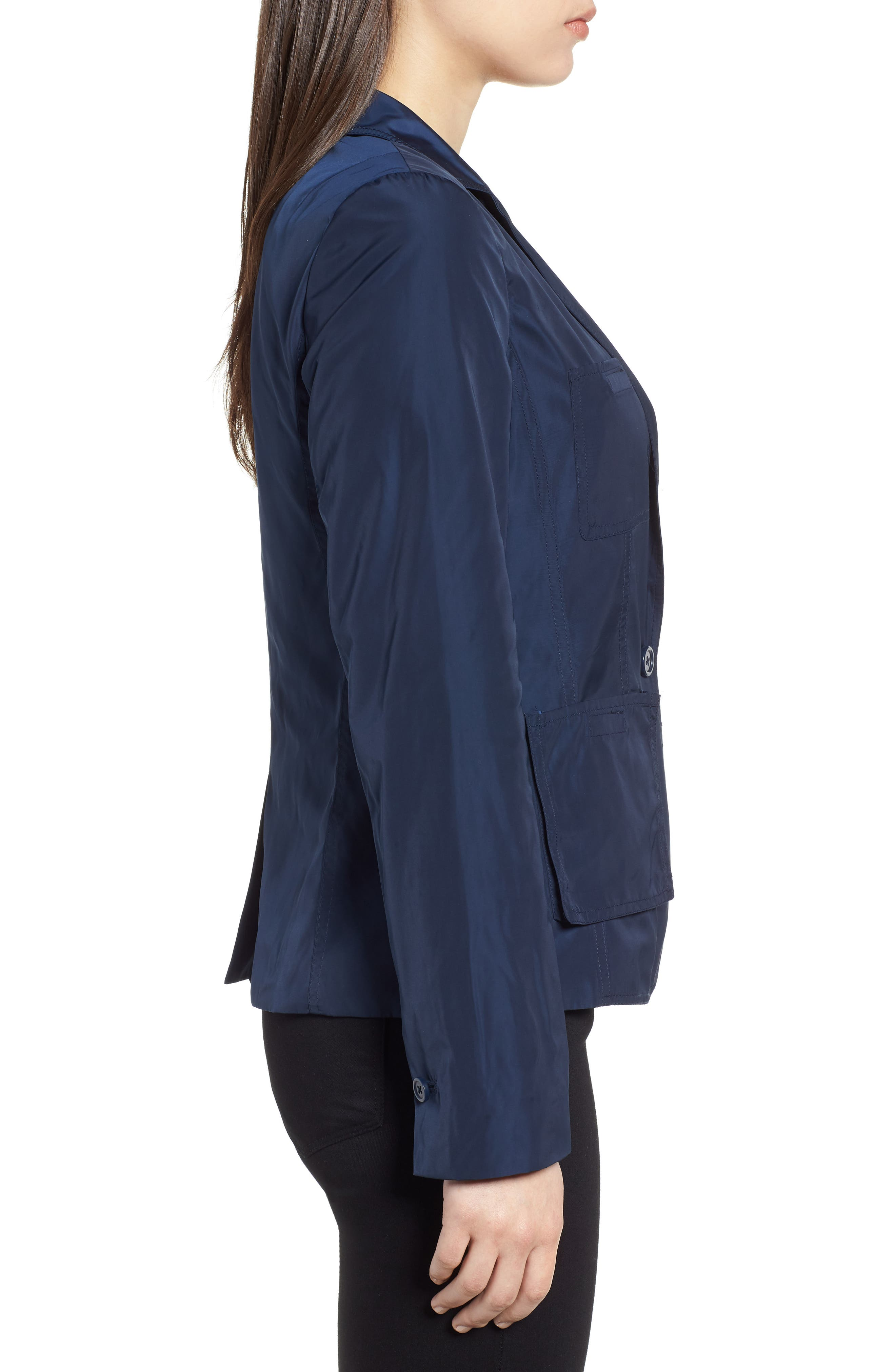 Two-Button Blazer,                             Alternate thumbnail 3, color,                             Indigo