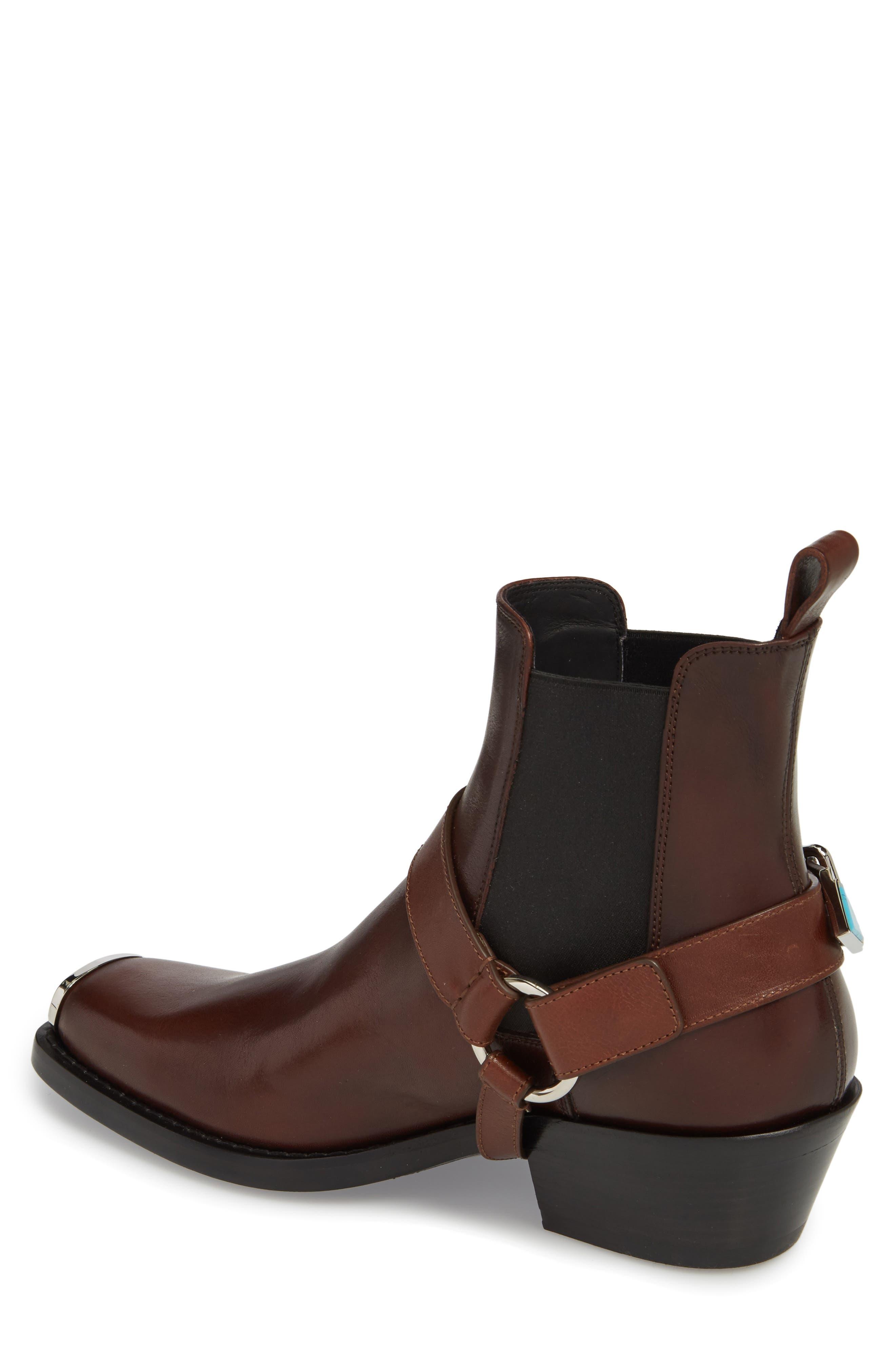 Alternate Image 2  - CALVIN KLEIN 205W39NYC Harness Chelsea Boot (Men)