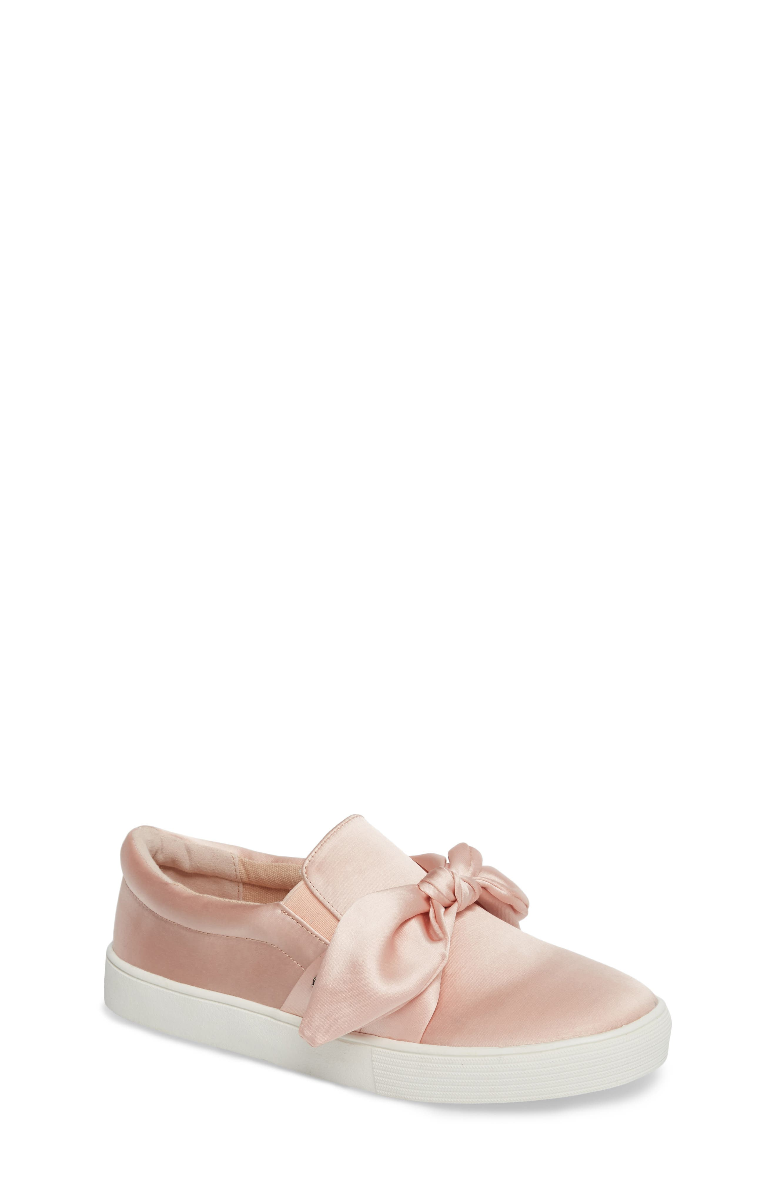 Bella Eden Slip-On Sneaker,                             Main thumbnail 1, color,                             Blush Satin