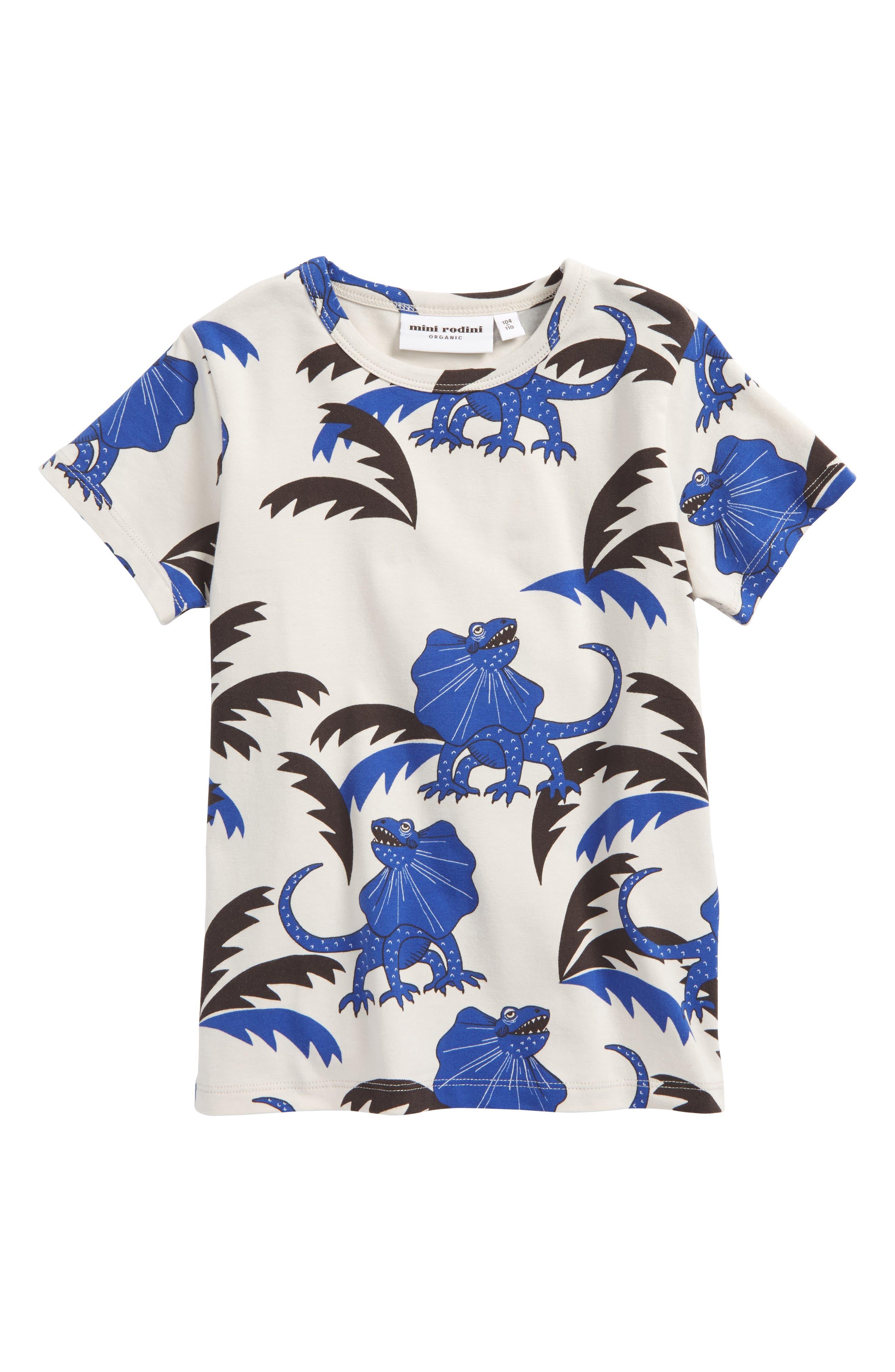 Mini Rodini Draco Stretch Organic Cotton T-Shirt (Toddler Boys & Little Boys)