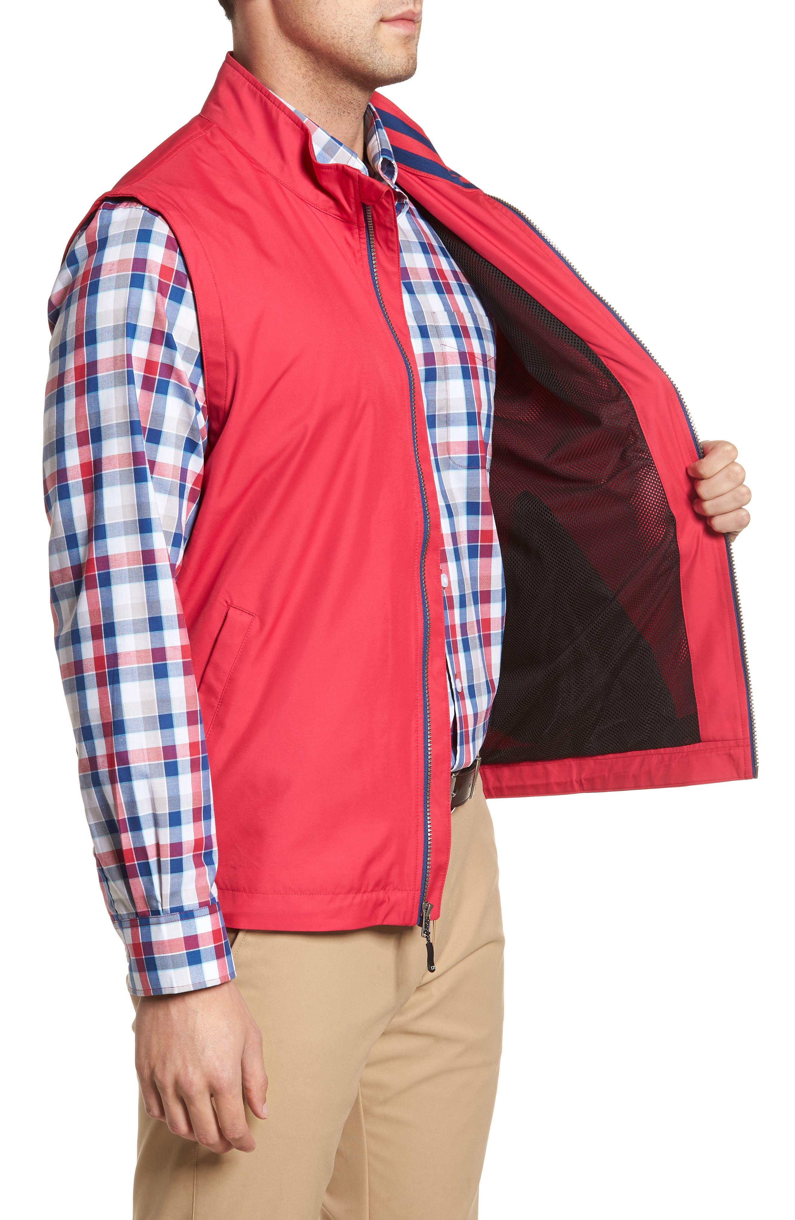 Nine Iron DryTec Zip Vest,                             Alternate thumbnail 3, color,                             Virtual
