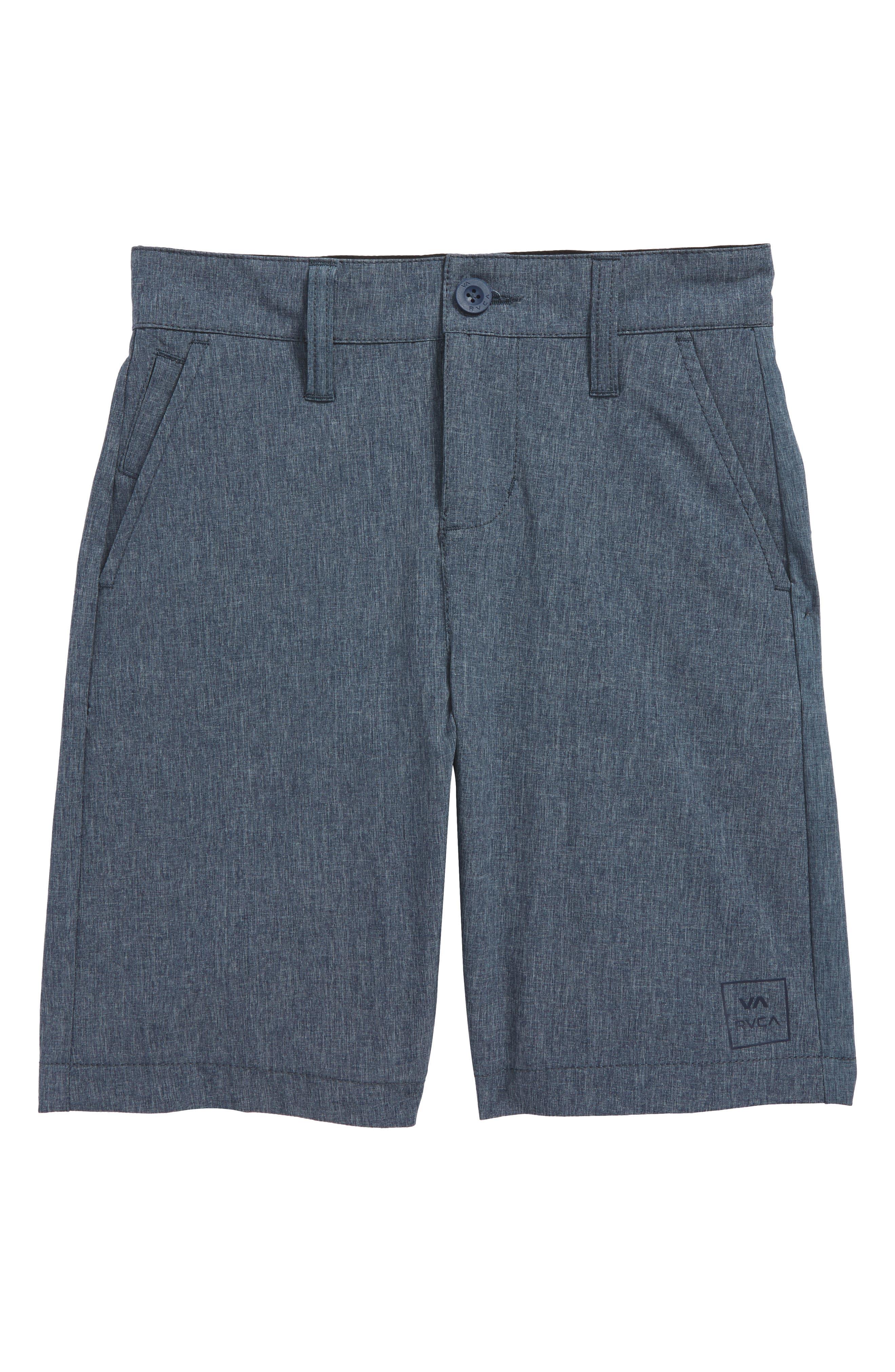 All the Way Hybrid Shorts,                             Main thumbnail 1, color,                             Classic Indigo