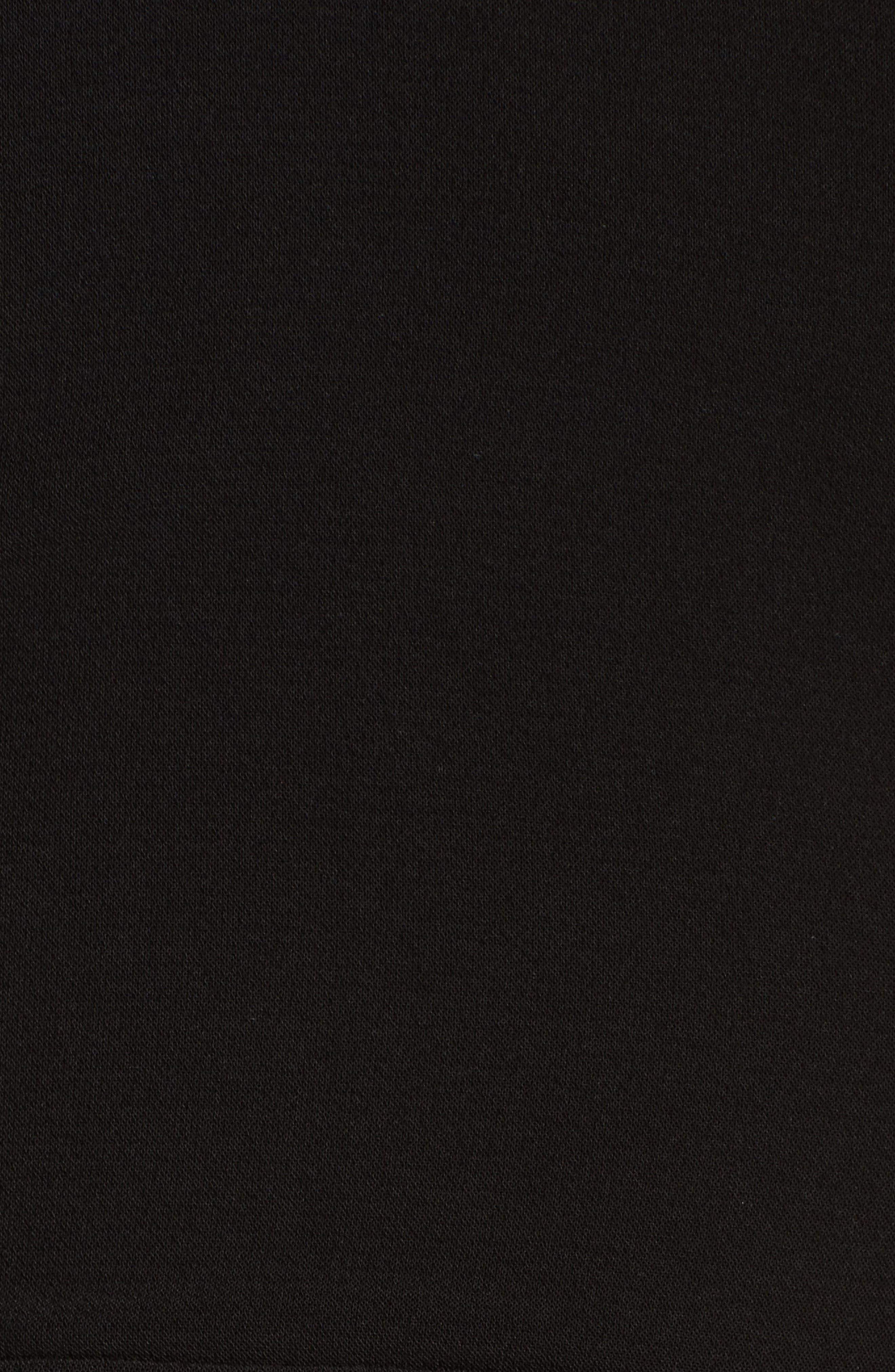 Wanda Sleeveless Sheath Dress,                             Alternate thumbnail 5, color,                             Black