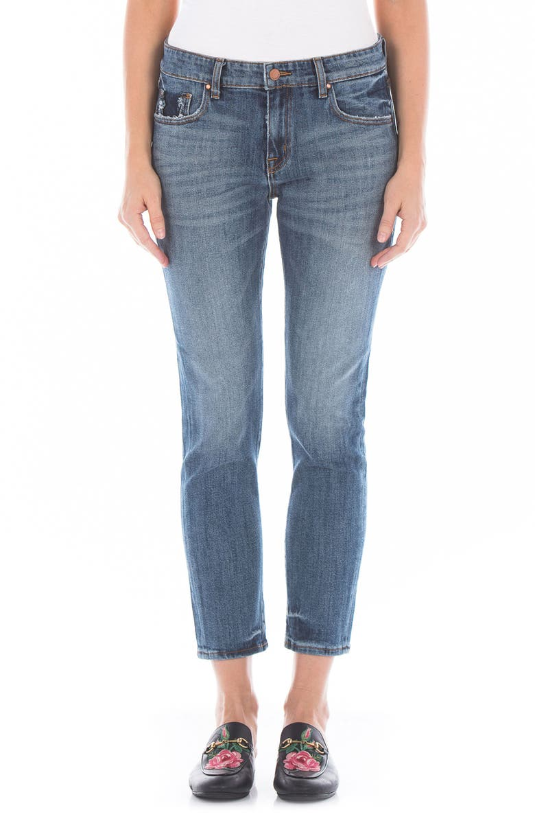 Dee Dee Distressed Crop Jeans