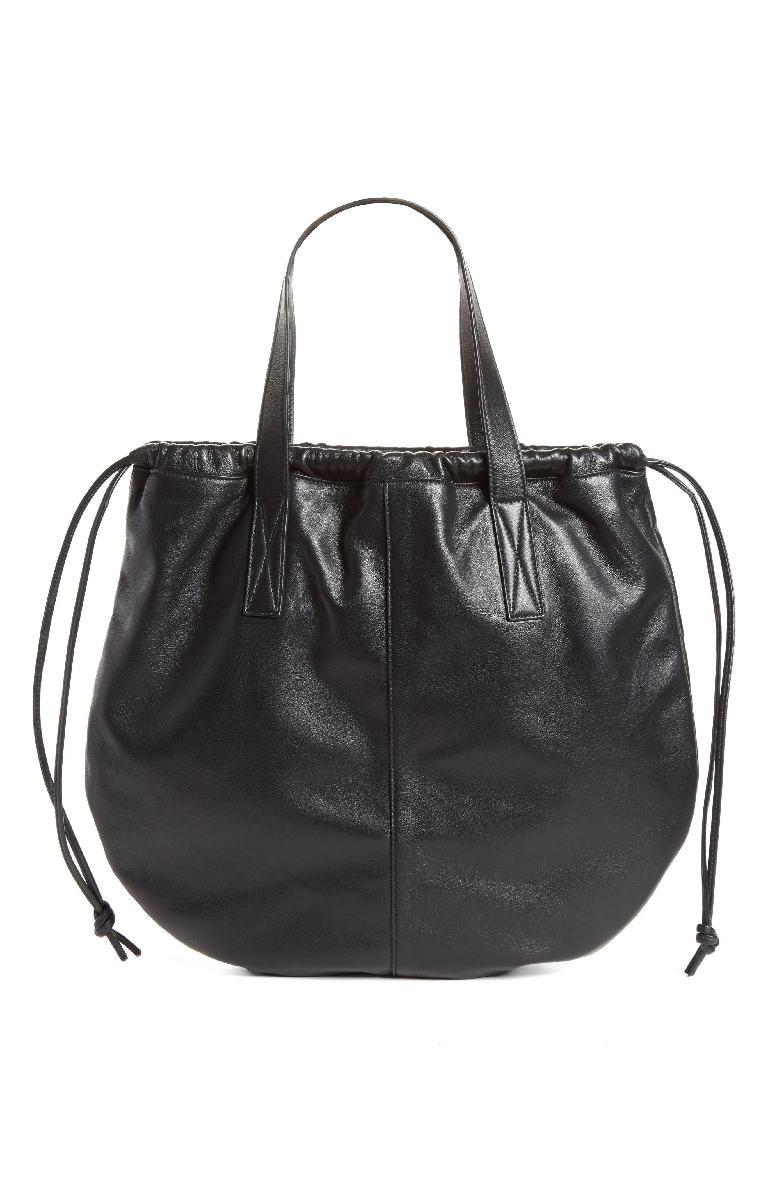 Victoria Beckham Helmet Lambskin Bucket Bag
