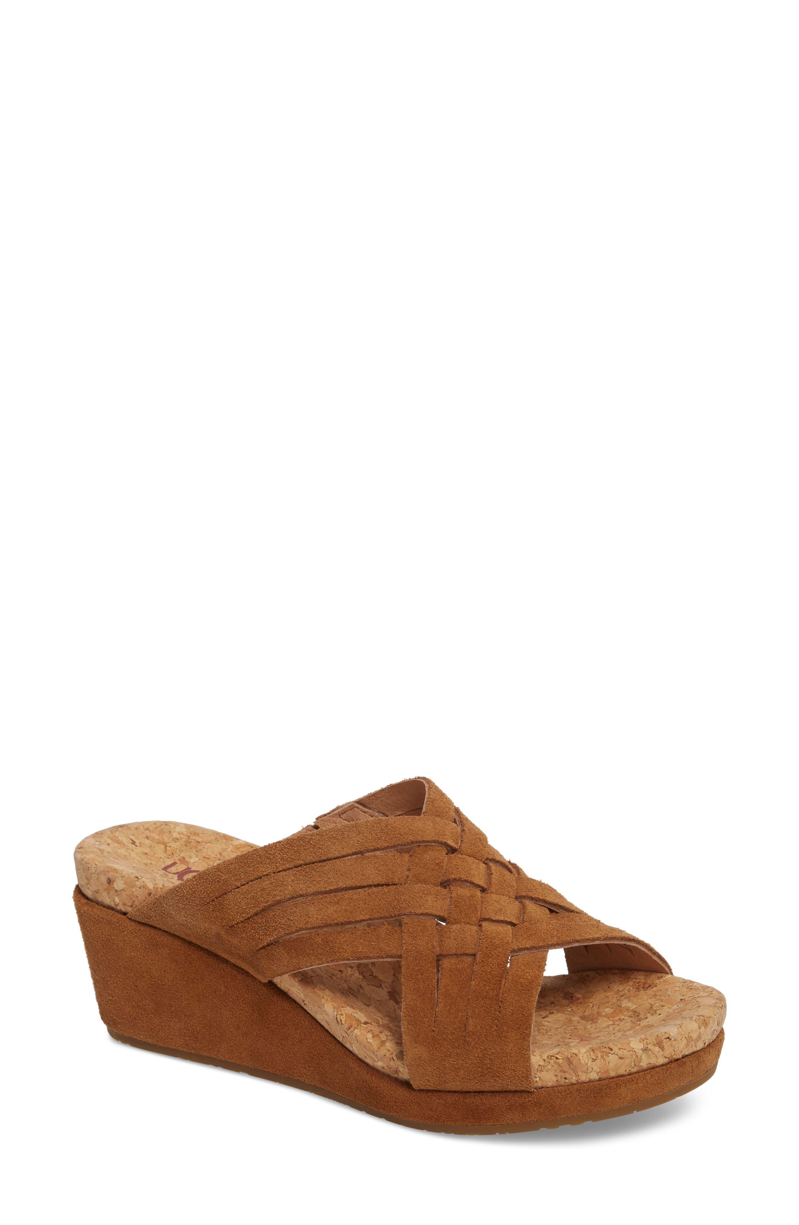 UGG® Lilah Wedge Sandal (Women)