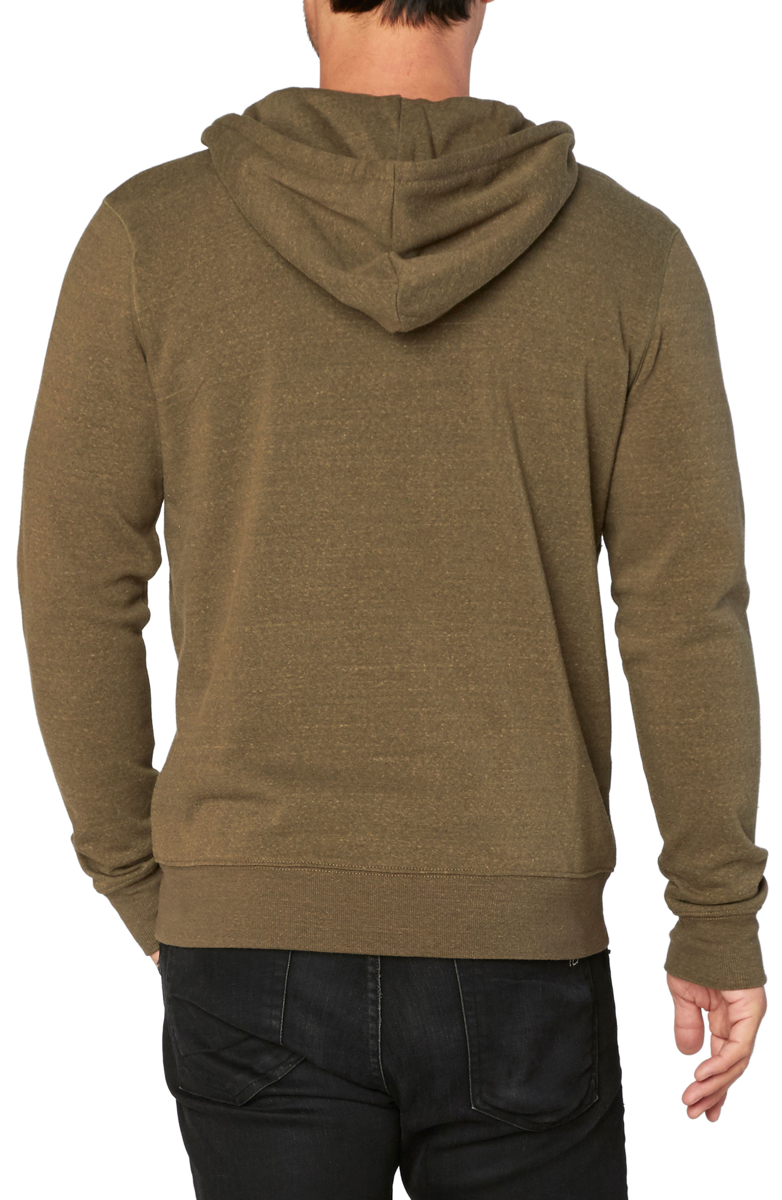 Alternate Image 2  - Threads for Thought Trim Fit Heathered Hoodie