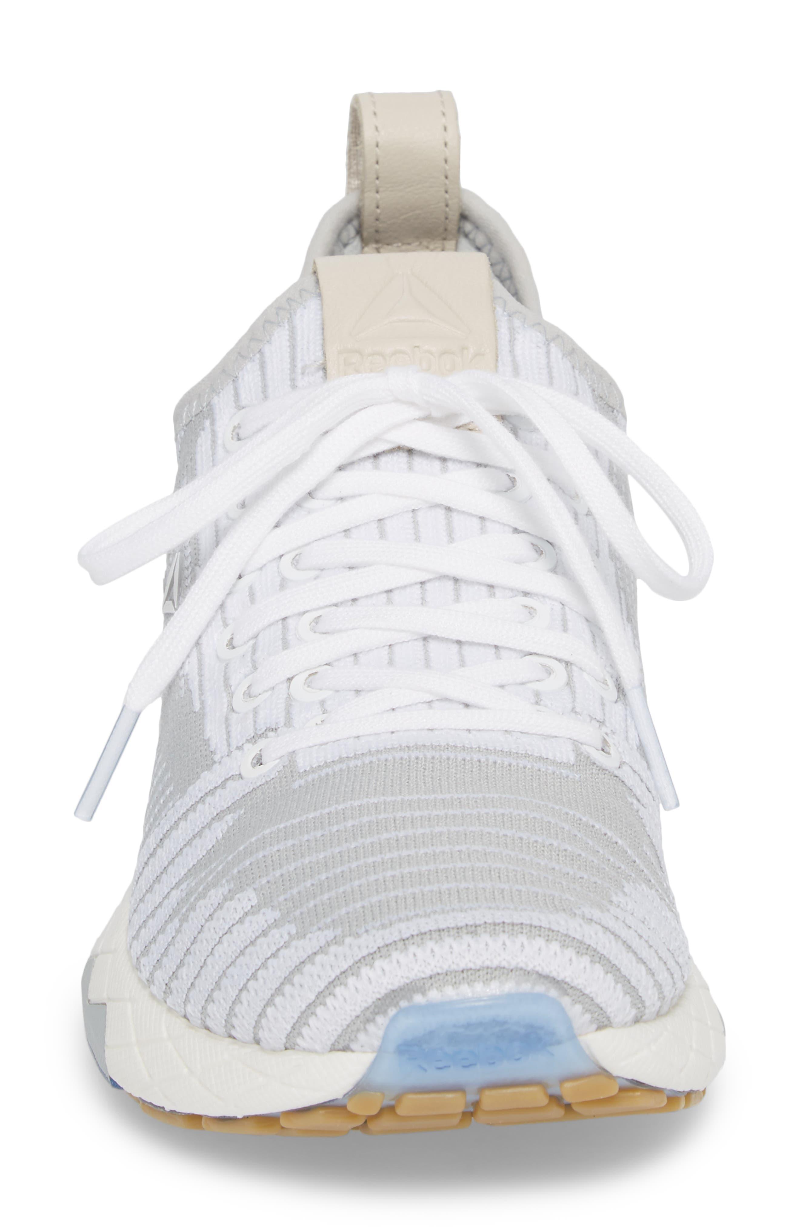 Floatride 6000 Running Shoe,                             Alternate thumbnail 4, color,                             White/ Skull Grey
