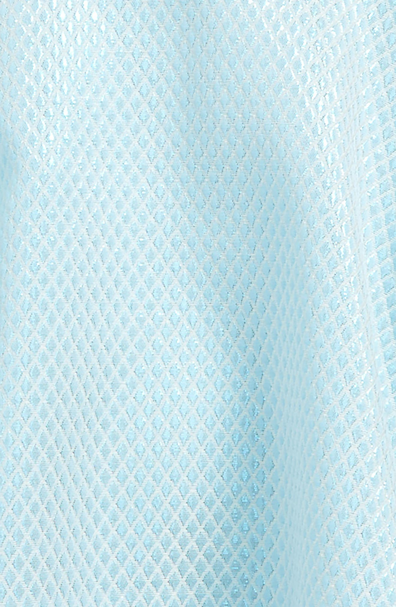 Sleeveless Party Dress,                             Alternate thumbnail 3, color,                             Blue