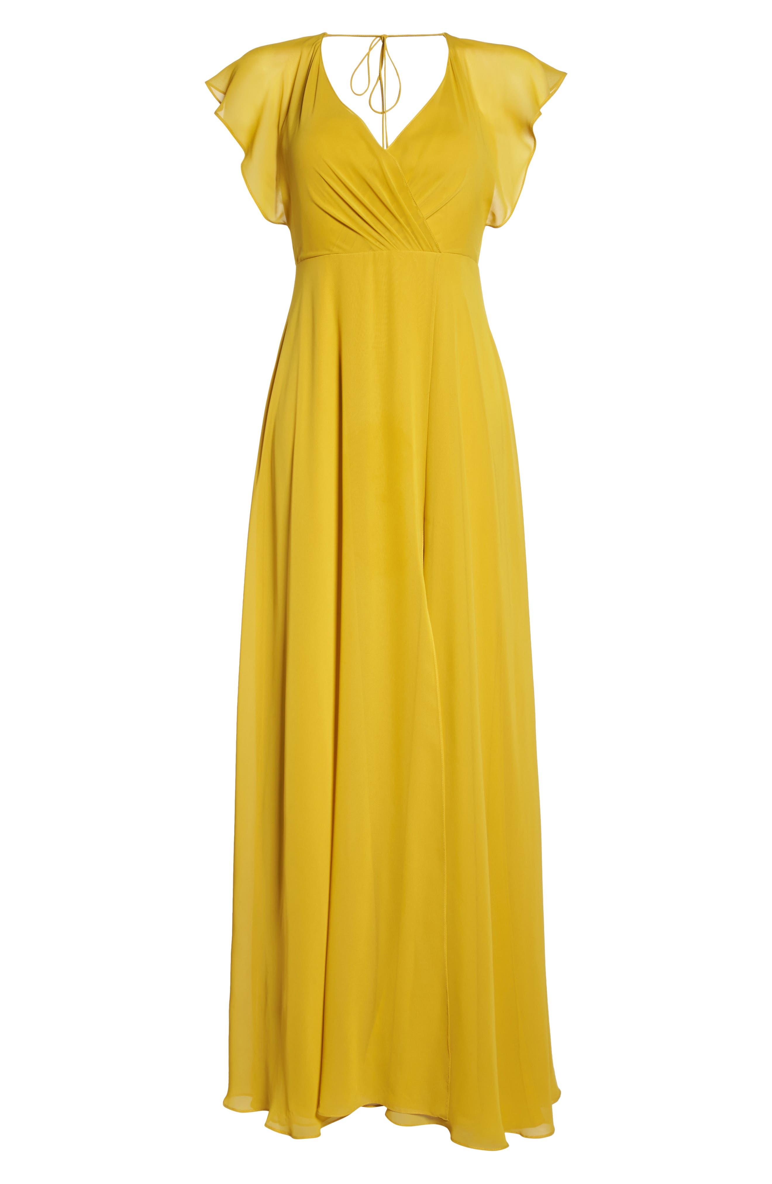 Alternate Image 6  - Jenny Yoo Alanna Open Back Chiffon Gown